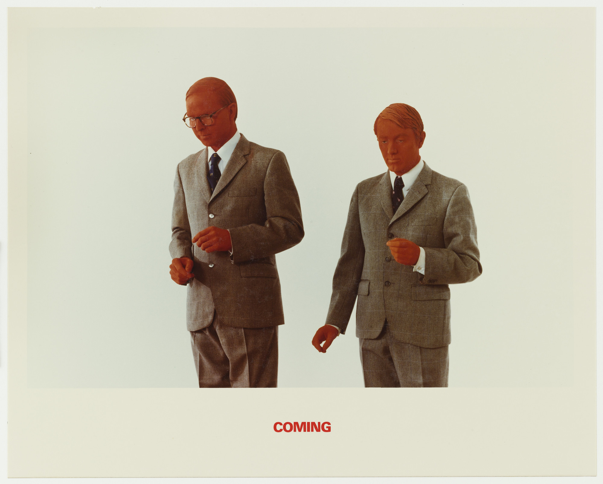 Gilbert & George. Coming. 1975
