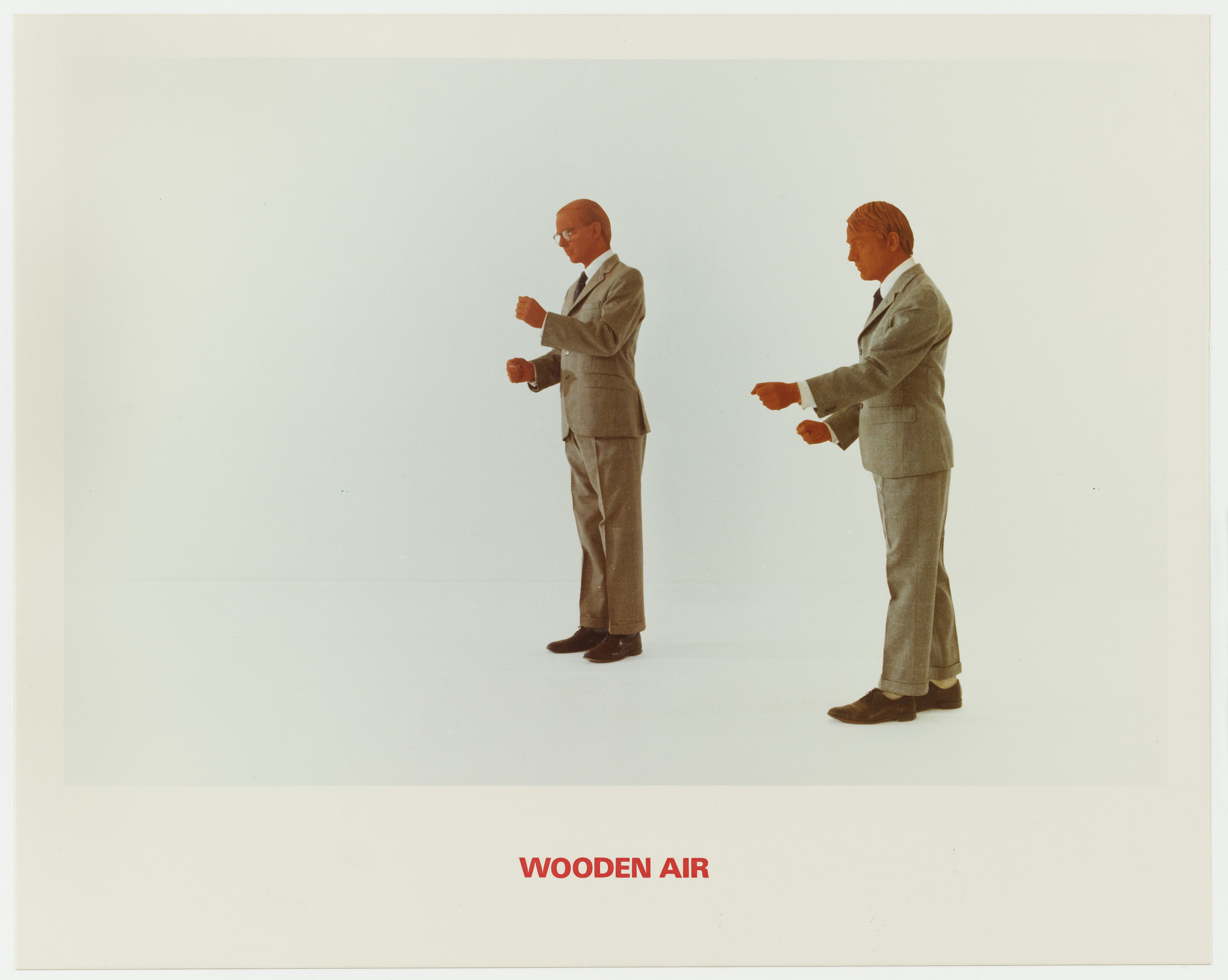 Gilbert & George. Wooden Air. 1975