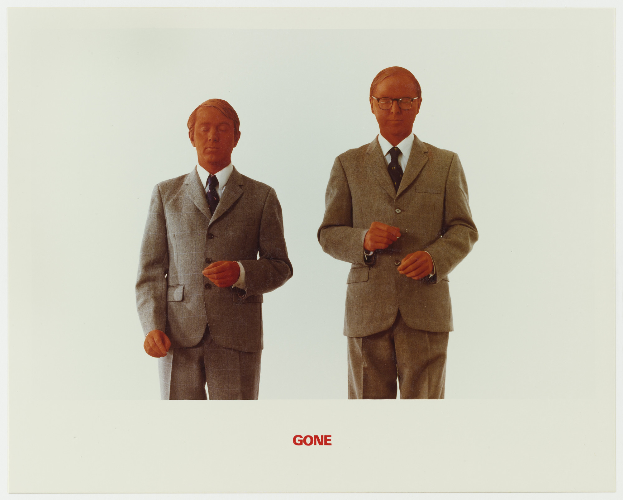 Gilbert & George. Gone. 1975
