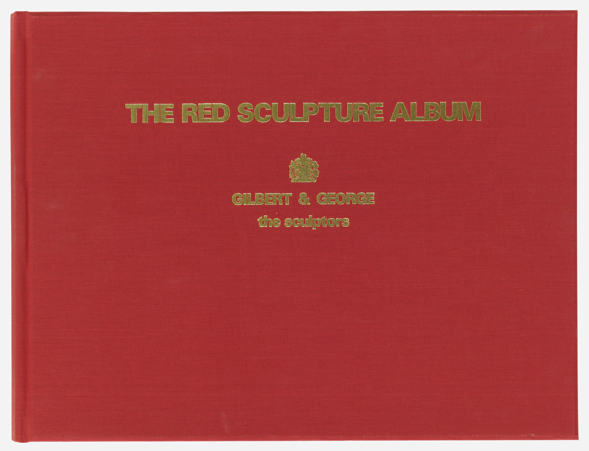 Gilbert & George. The Red Sculpture Album. 1975
