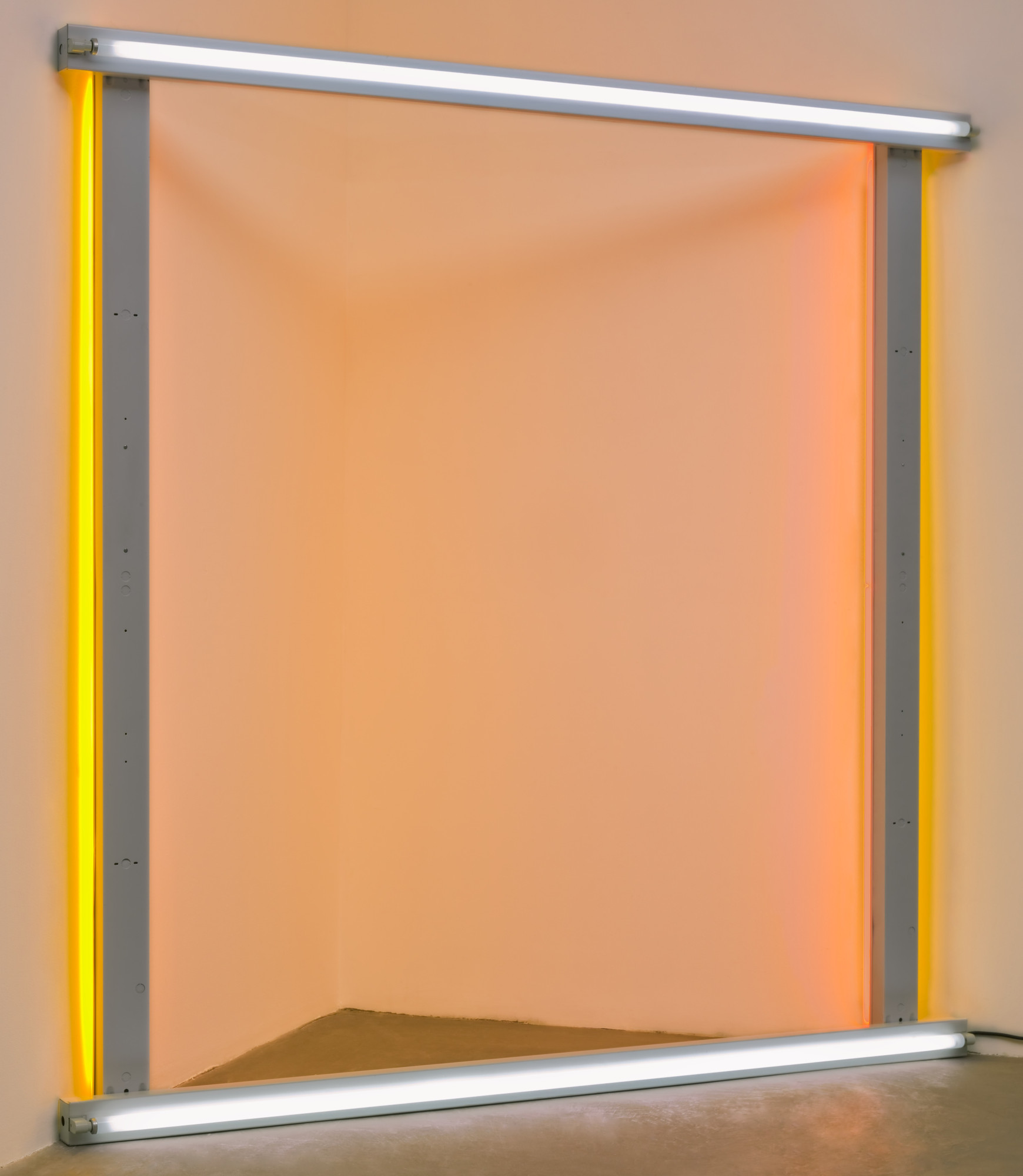 "Dan Flavin. untitled (to the ""innovator"" of Wheeling Peachblow). 1968"