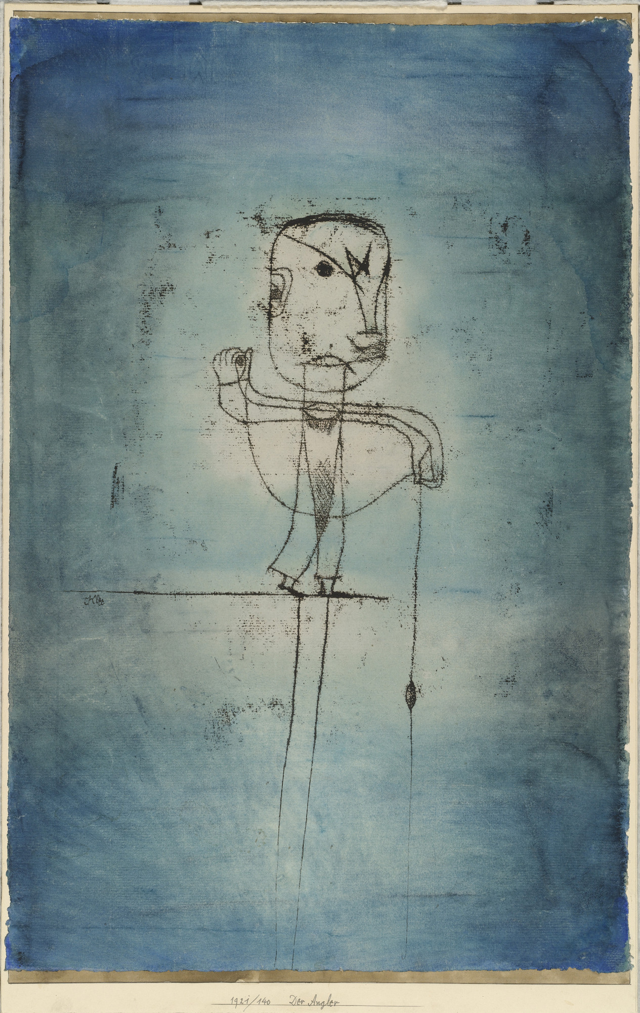 Paul Klee. The Angler (Der Angler). 1921