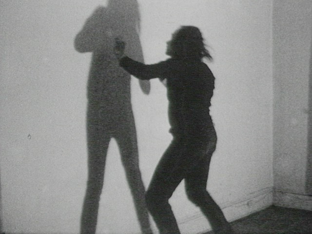 Vito Acconci. Three Relationship Studies: Shadow-Play, Imitations, Manipulations. 1970