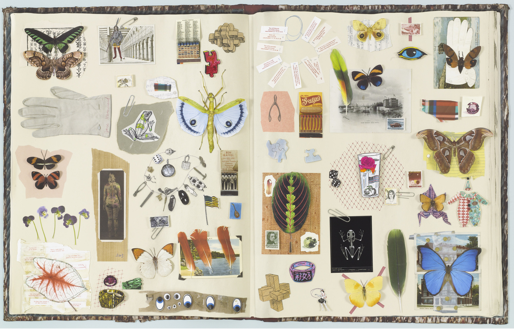 Jane Hammond. Scrapbook. 2003