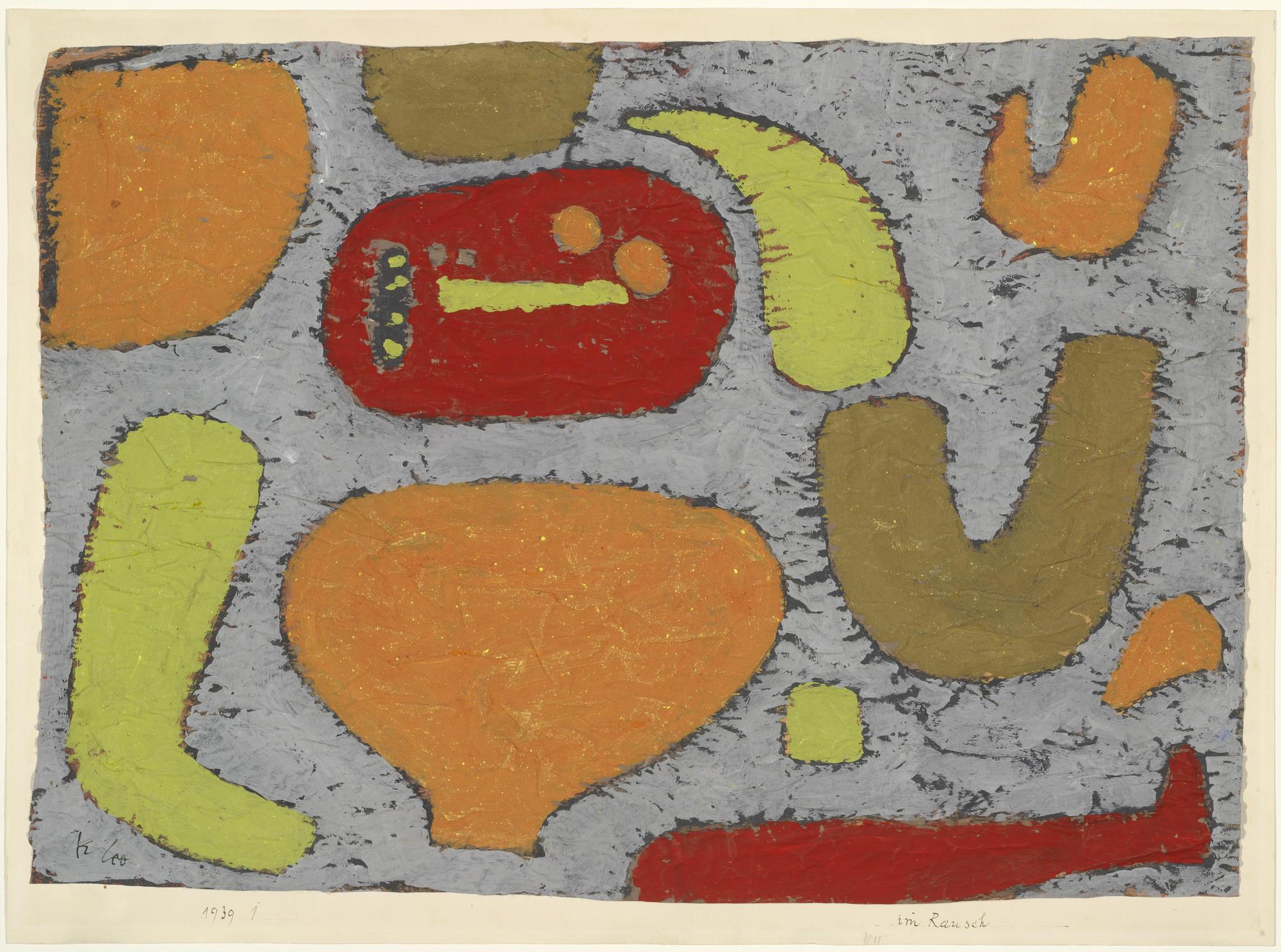 Paul Klee. Intoxication (Im Rausch). 1939   MoMA