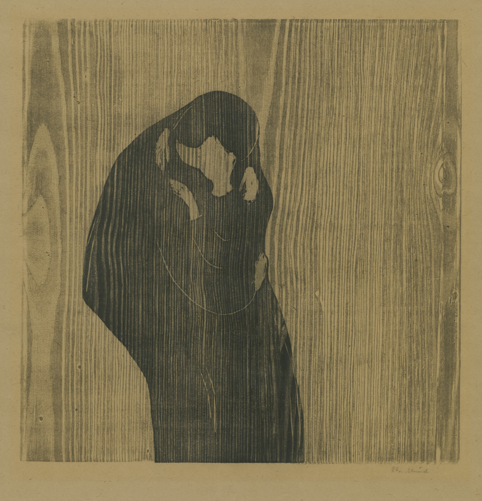 Edvard Munch. The Kiss IV (Kyss IV). 1897–1902