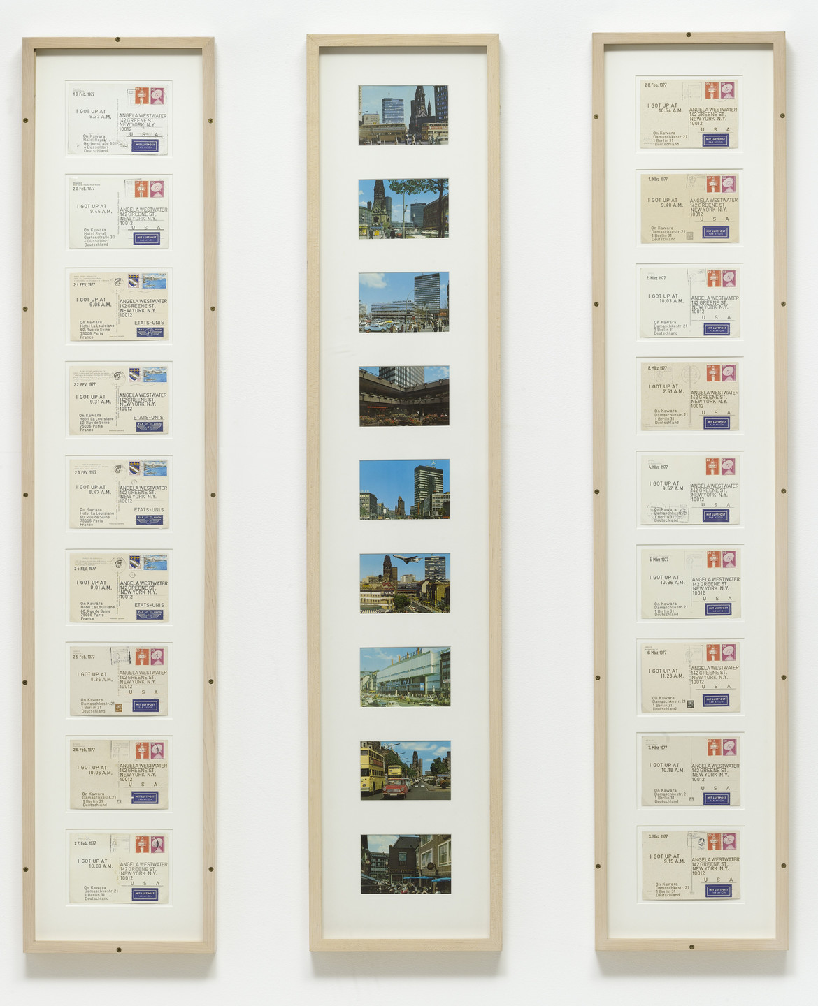 On Kawara. I Got Up.... 1977
