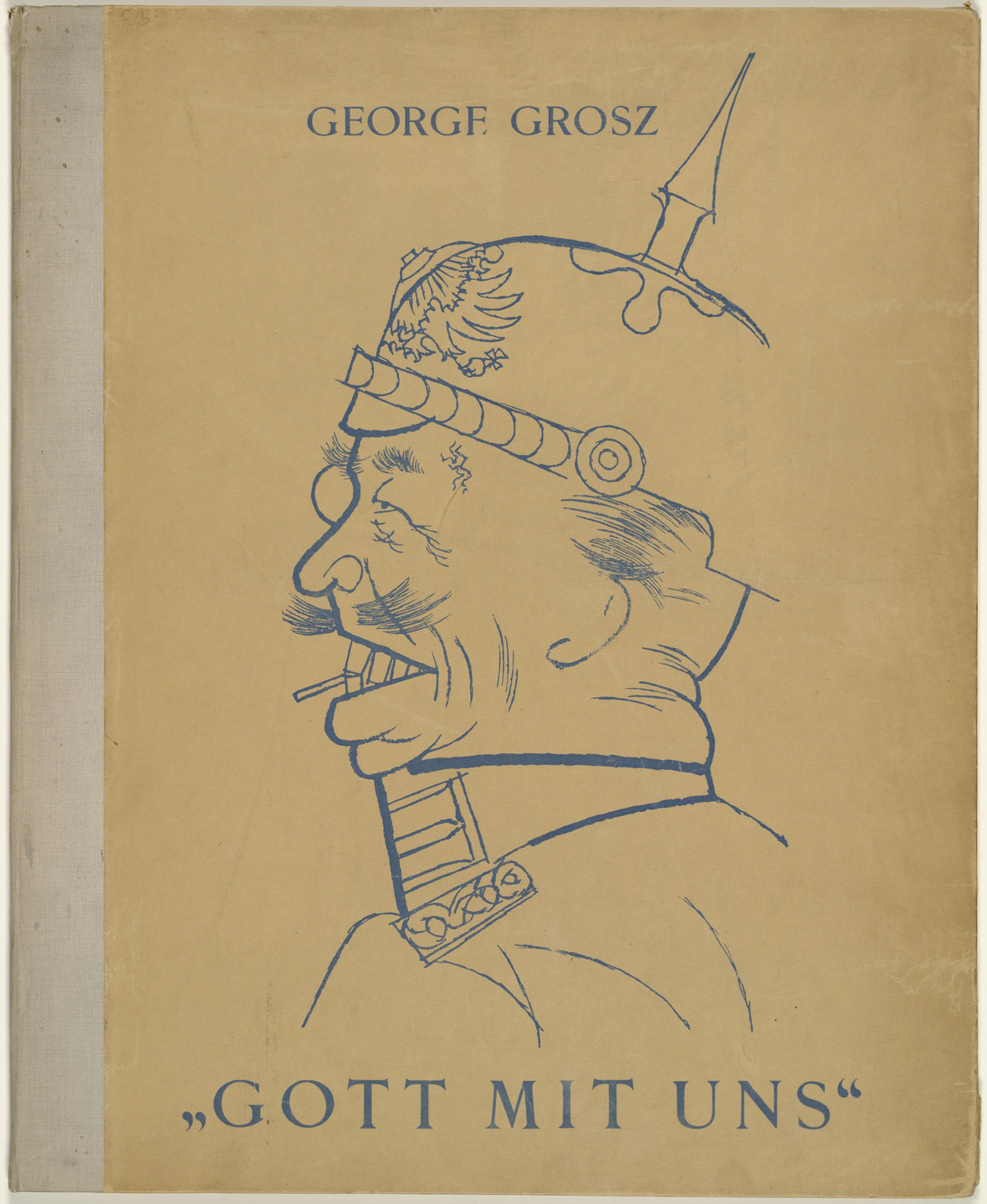 George Grosz. Cover from the portfolio God with Us (Gott mit uns). 1919, published 1920