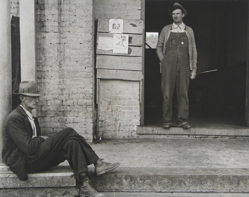 Ben Shahn. Farmers at Maynardville, Tennessee. 1935