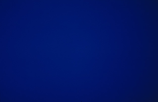 Derek Jarman. Blue. 1993