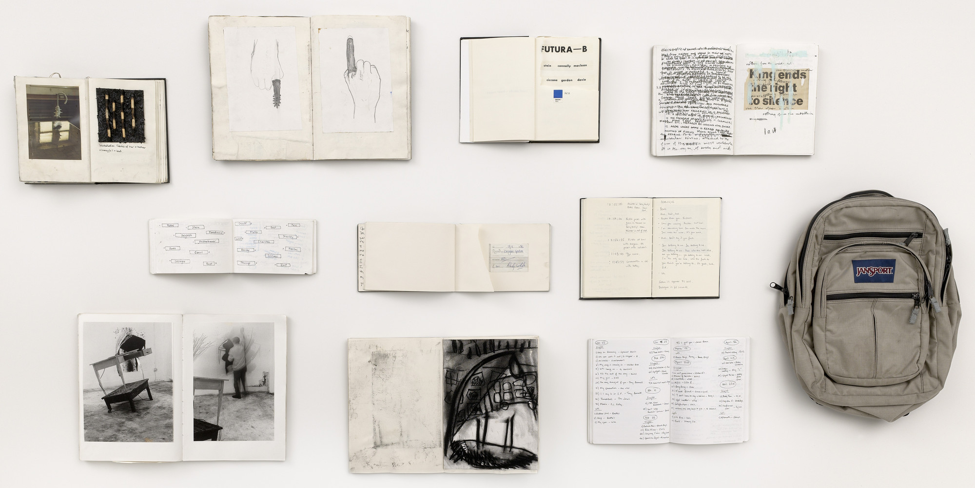 Douglas Gordon. Memoirs, 1988-1990. (1984-90)