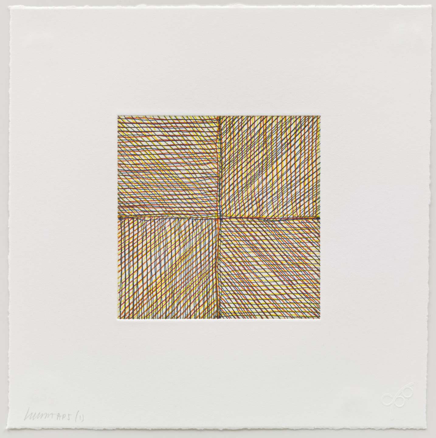 Sol LeWitt. Eight Small Etchings/Color. 1999