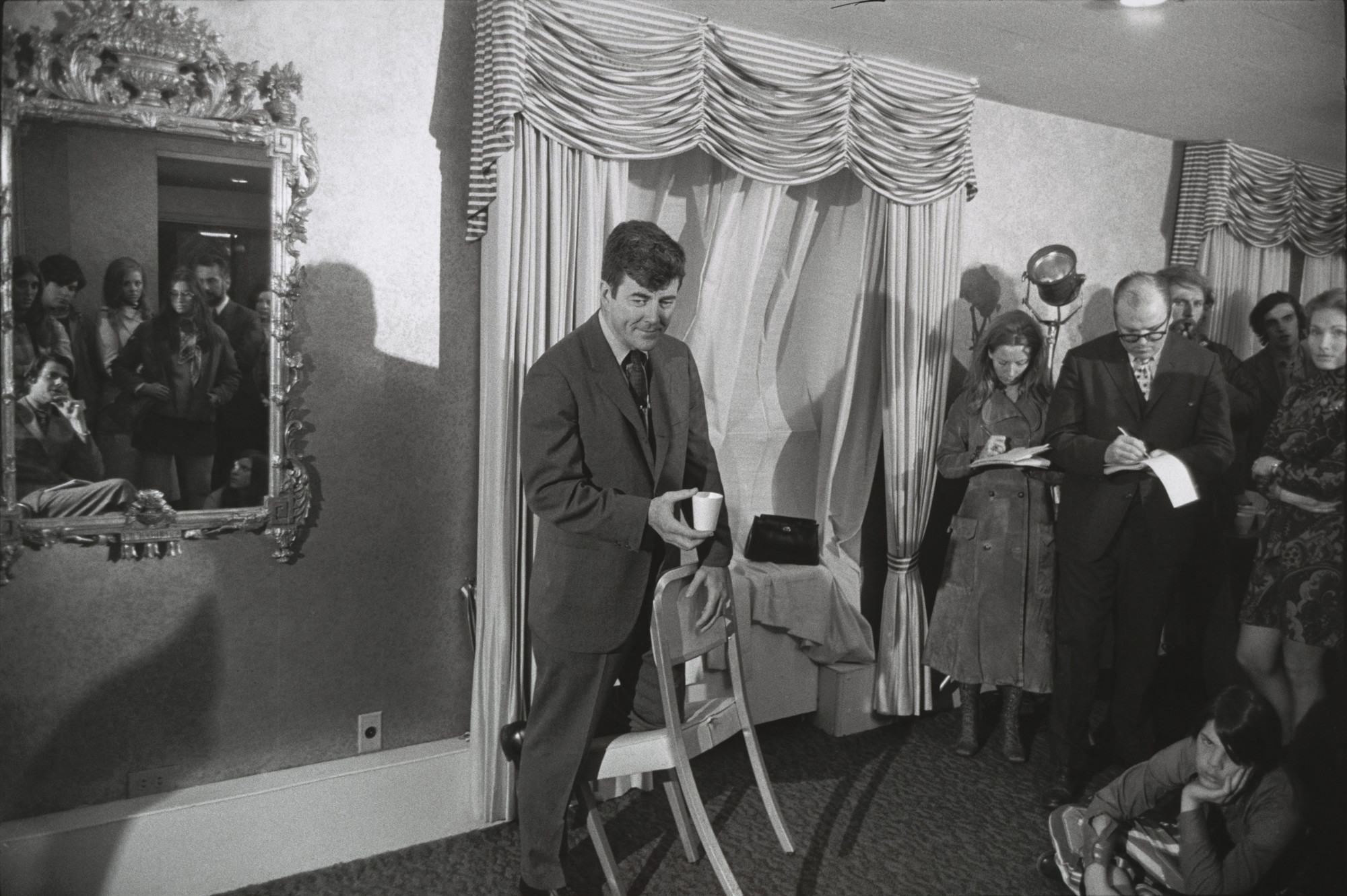 Garry Winogrand. Presidential Candidates Press Conference, Providence, Rhode Island. 1971