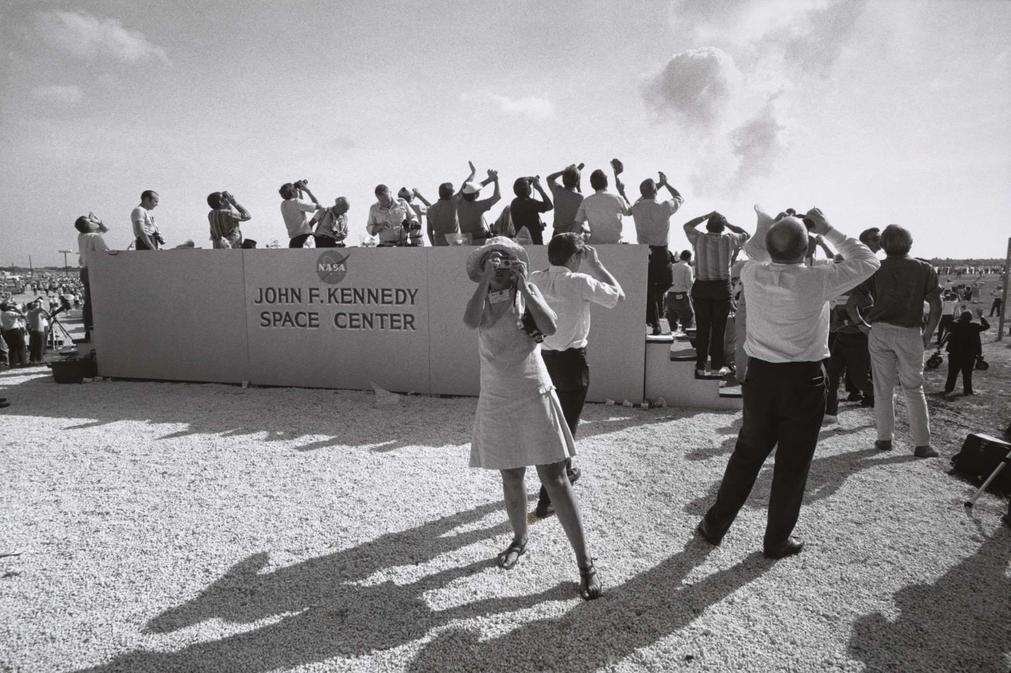Garry Winogrand. Apollo 11 Moon Shot, Cape Kennedy, Florida. 1969