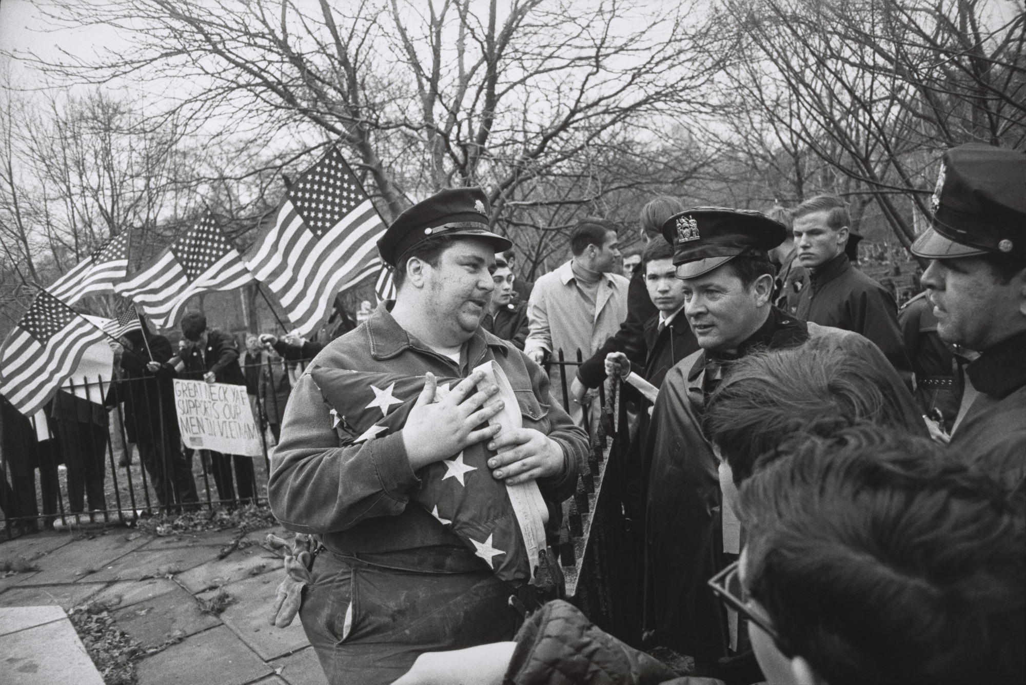 Garry Winogrand. Peace Demonstration, Central Park, New York. 1969
