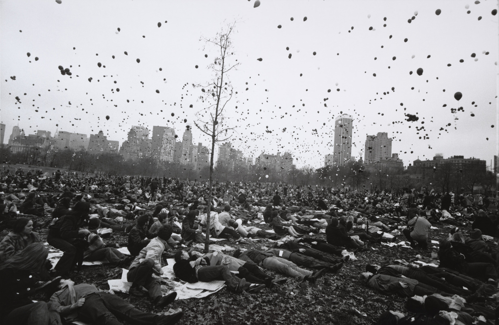 Garry Winogrand. Peace Demonstration, Central Park, New York. 1970