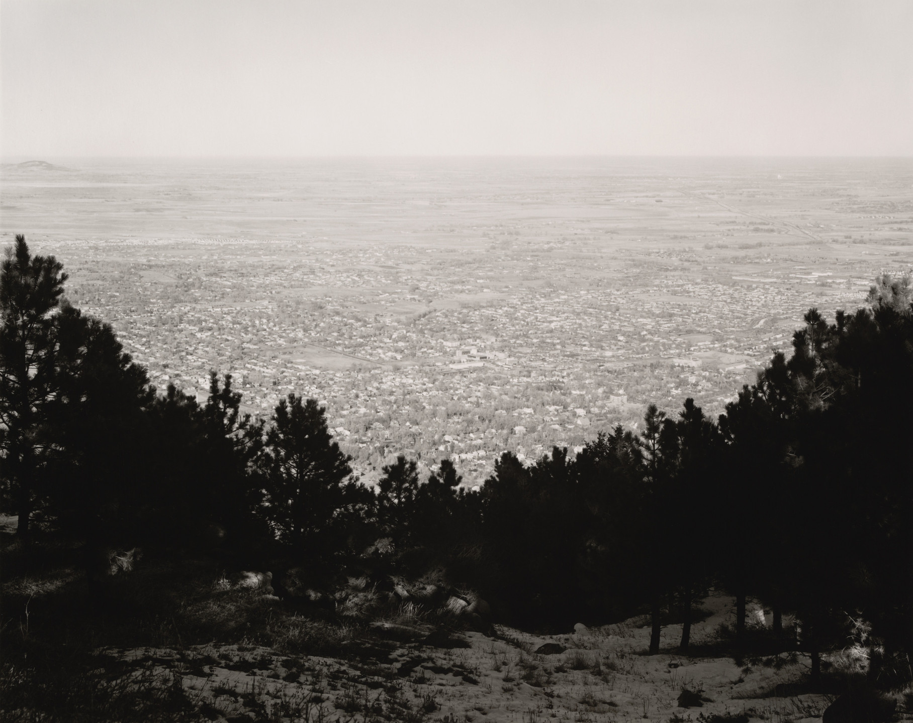 Robert Adams. East from Flagstaff Mountain, Boulder County, Colorado. 1976