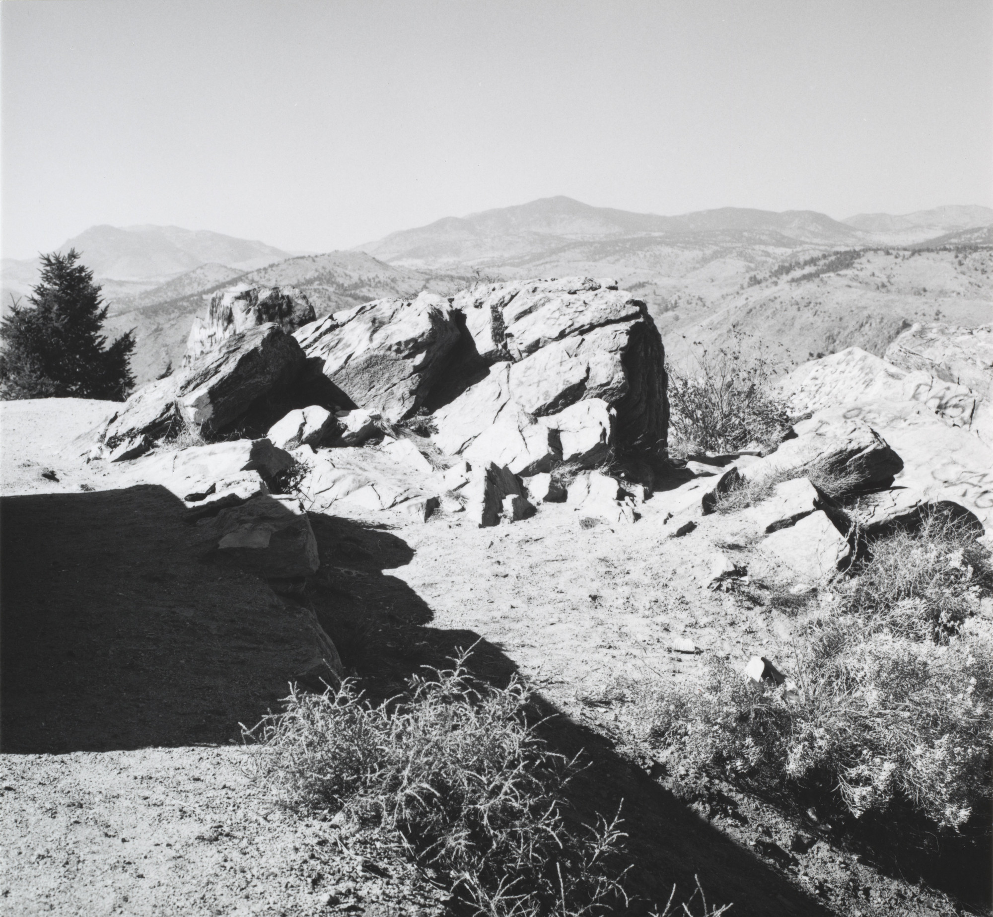 Robert Adams. From Lookout Mountain,  Colorado. 1970