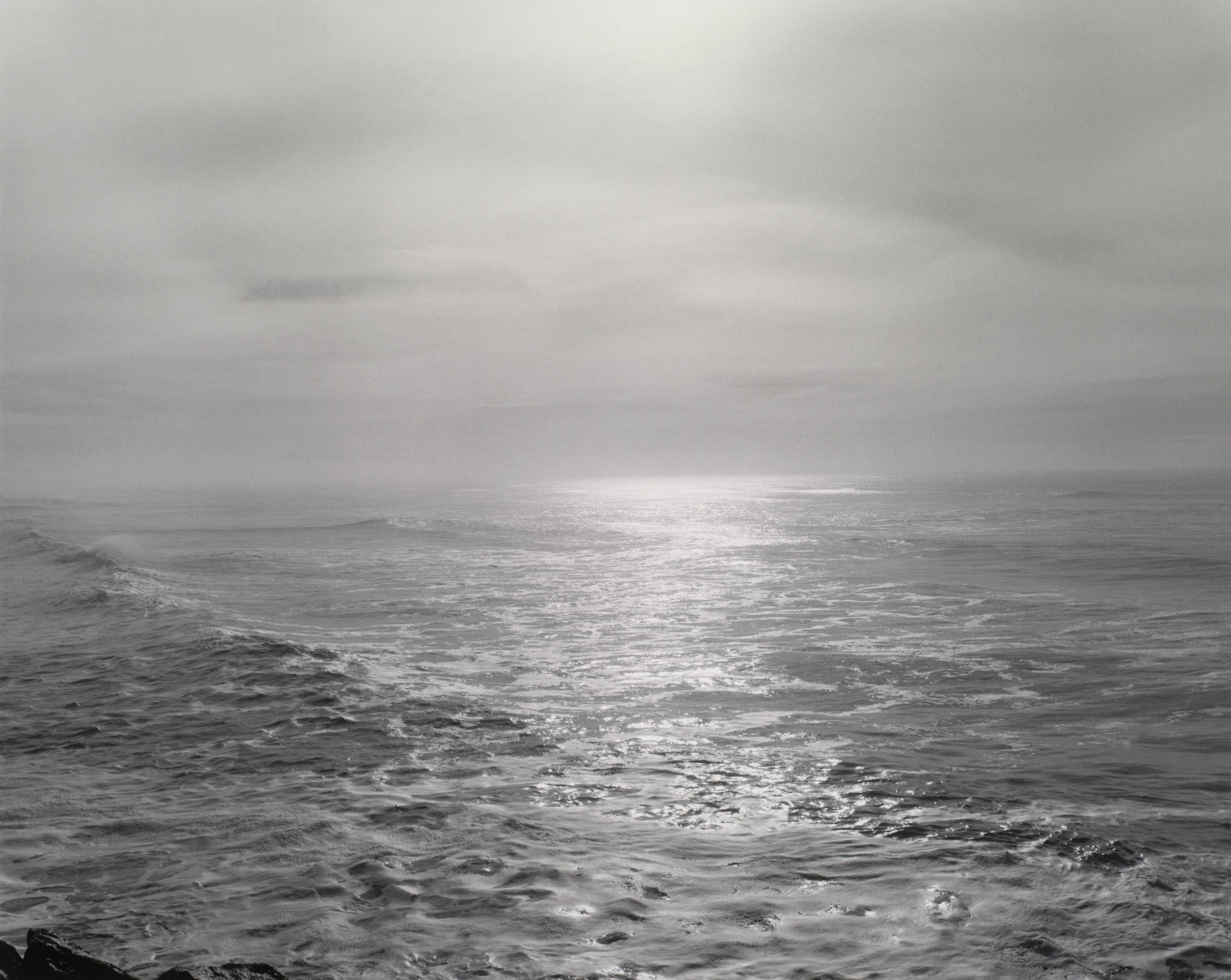 Robert Adams. Southwest from the South Jetty, Clatsop County, Oregon. 1990