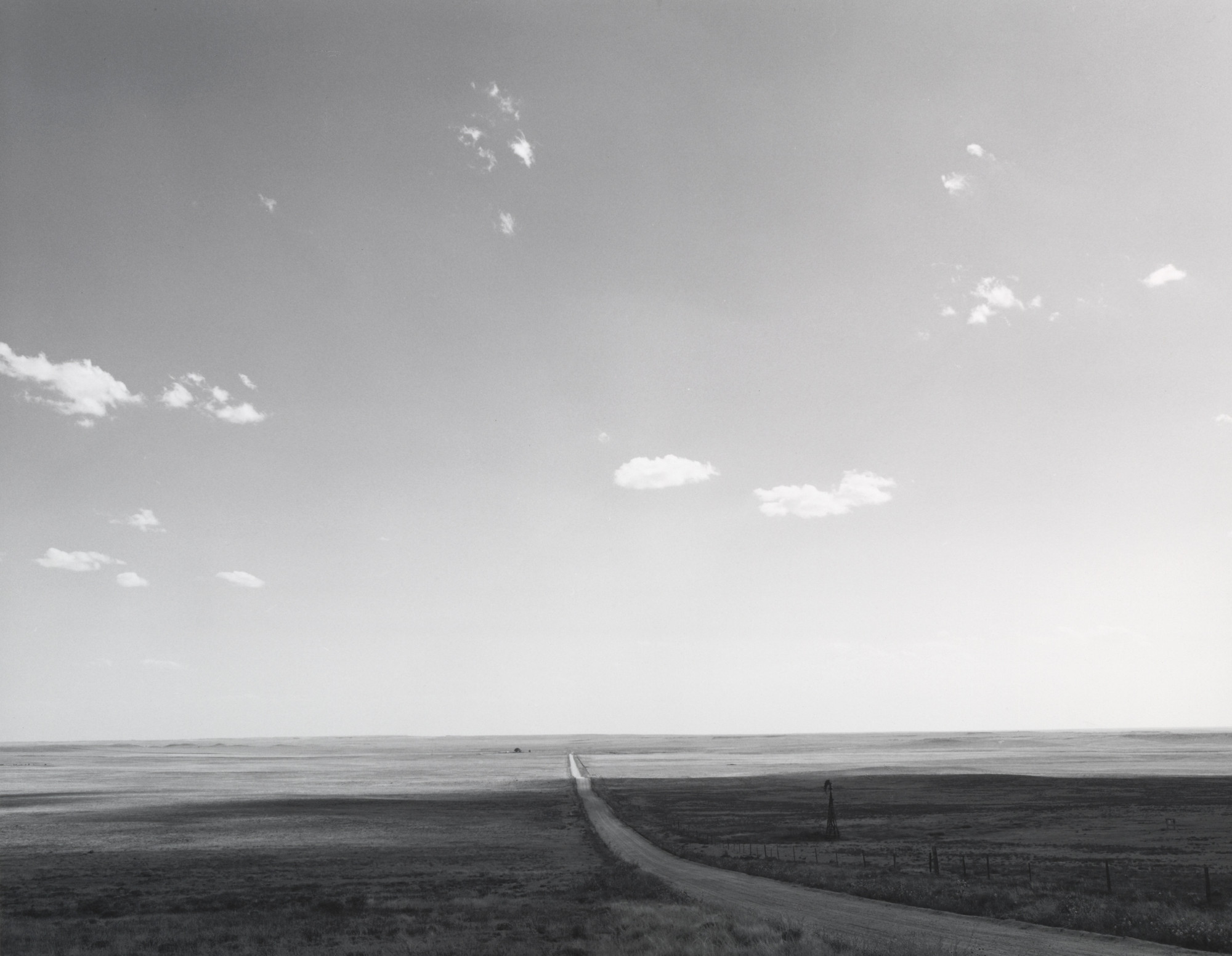 Robert Adams. The Pawnee Grasslands. 1973