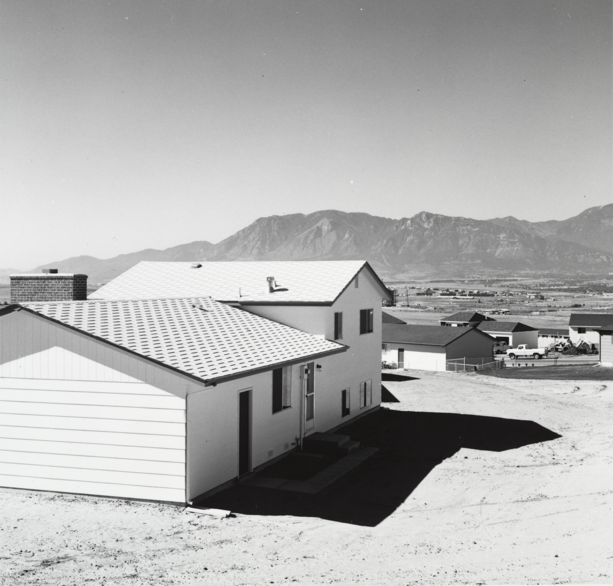 Robert Adams. Newly Completed Tract House, Colorado Springs. 1968