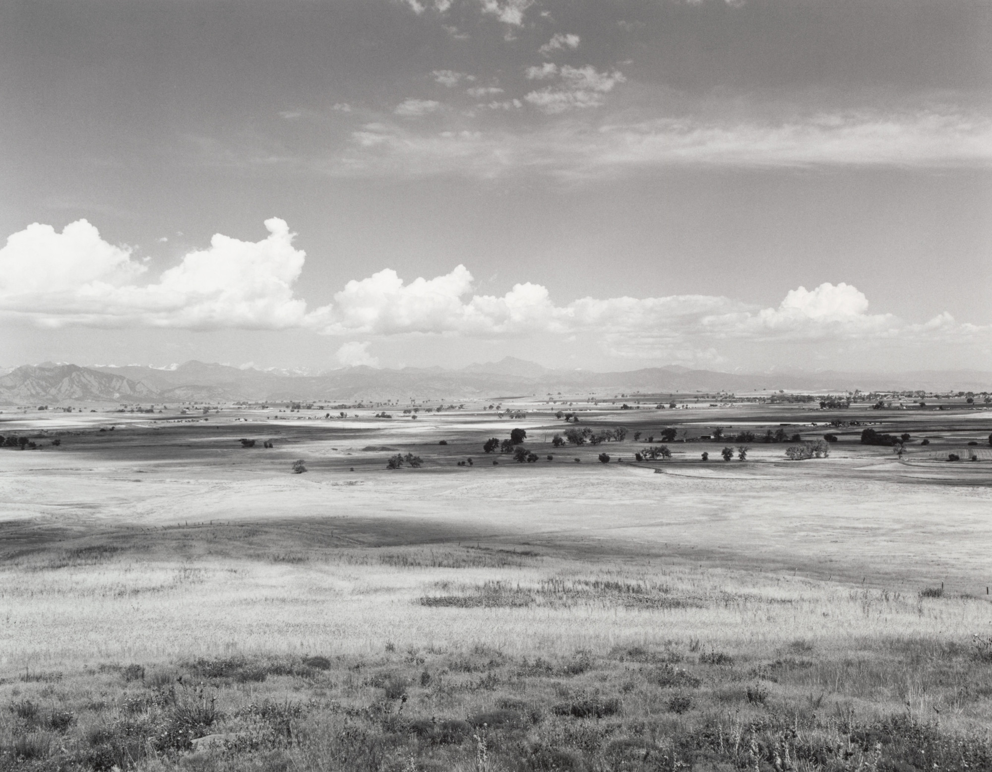 Robert Adams. North of Broomfield, Colorado. 1973