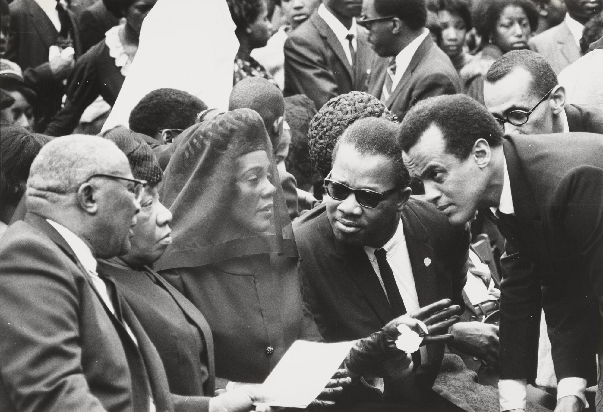 Don Hogan Charles/The New York Times. Funeral of Dr. Martin Luther King, Jr.. April 9, 1968