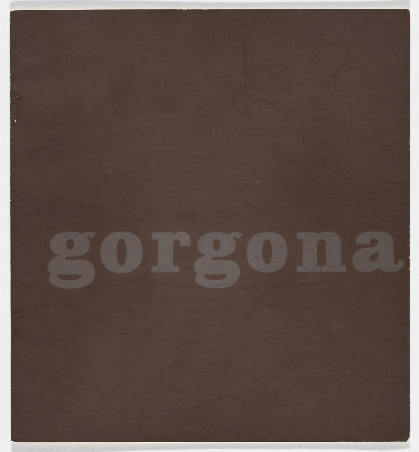 Josip Vaništa, Gorgona artists group. Gorgona no. 1. 1961