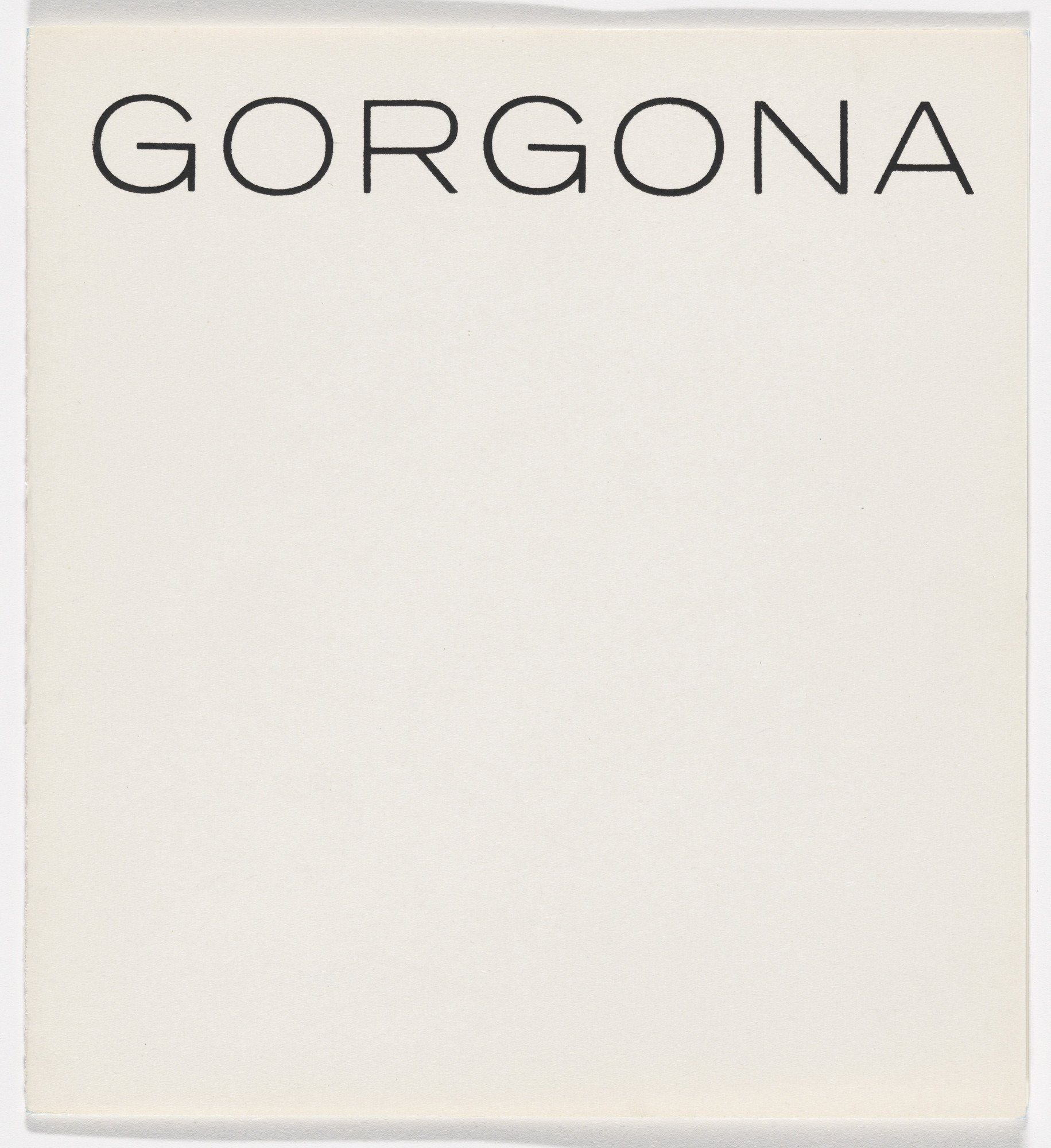 Various Artists, Gorgona artists group. Gorgona no. 1-11. 1961–66