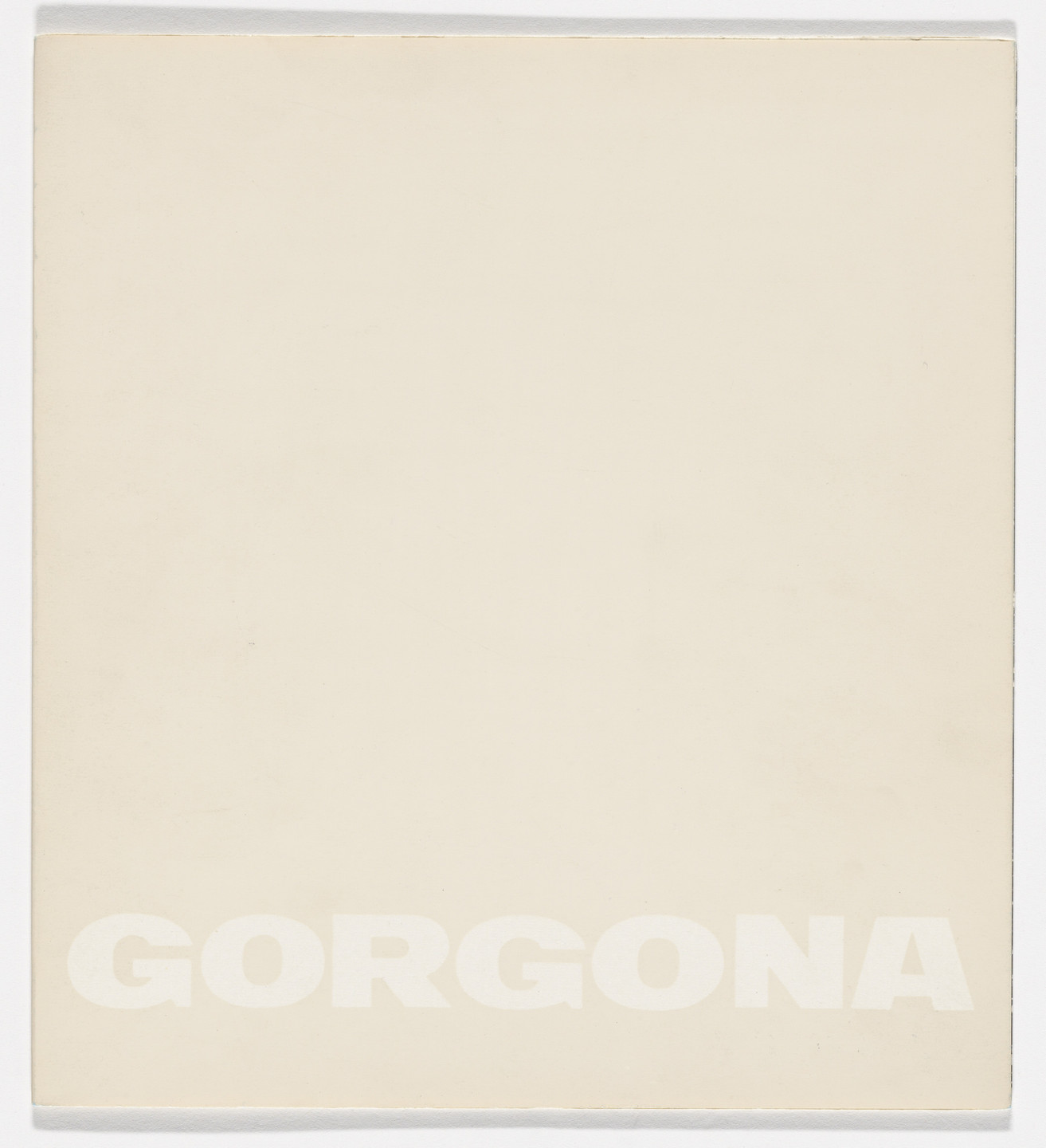 Ivan Kožarić, Gorgona artists group. Gorgona no. 5. 1961