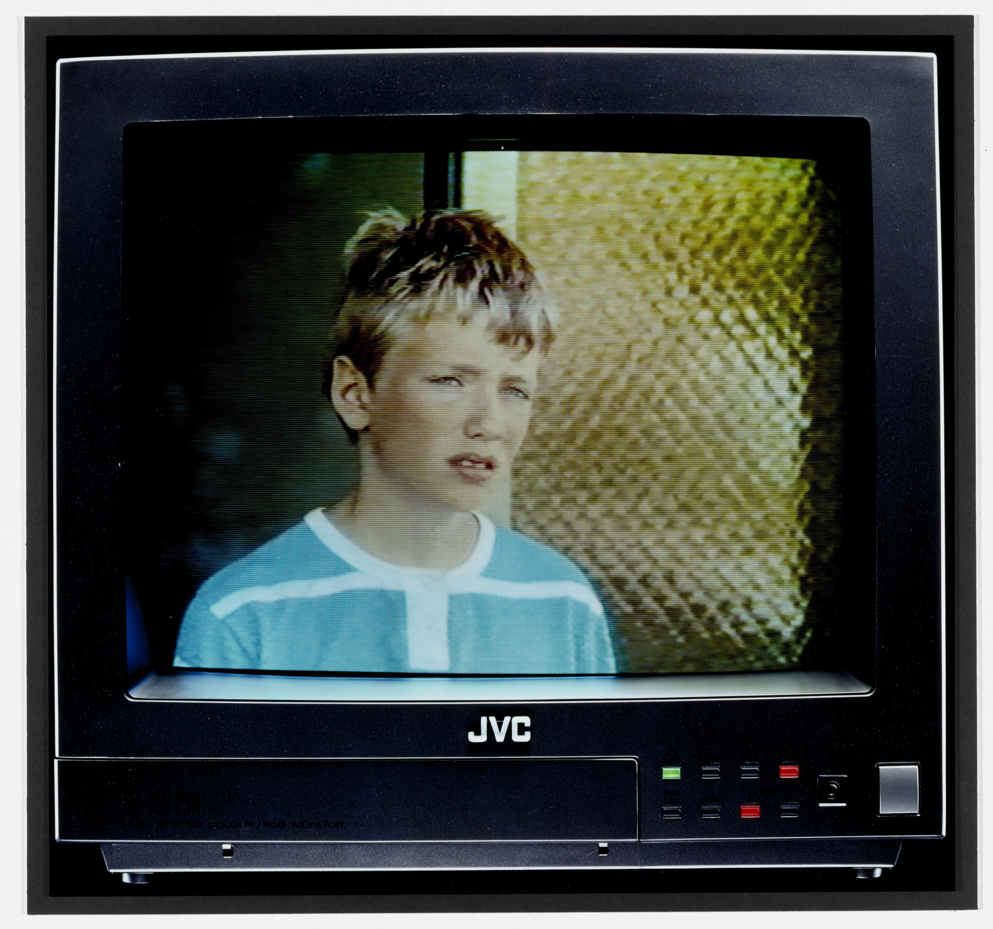 Jeff Wall. Boy on TV (for Parkett no. 22). 1989