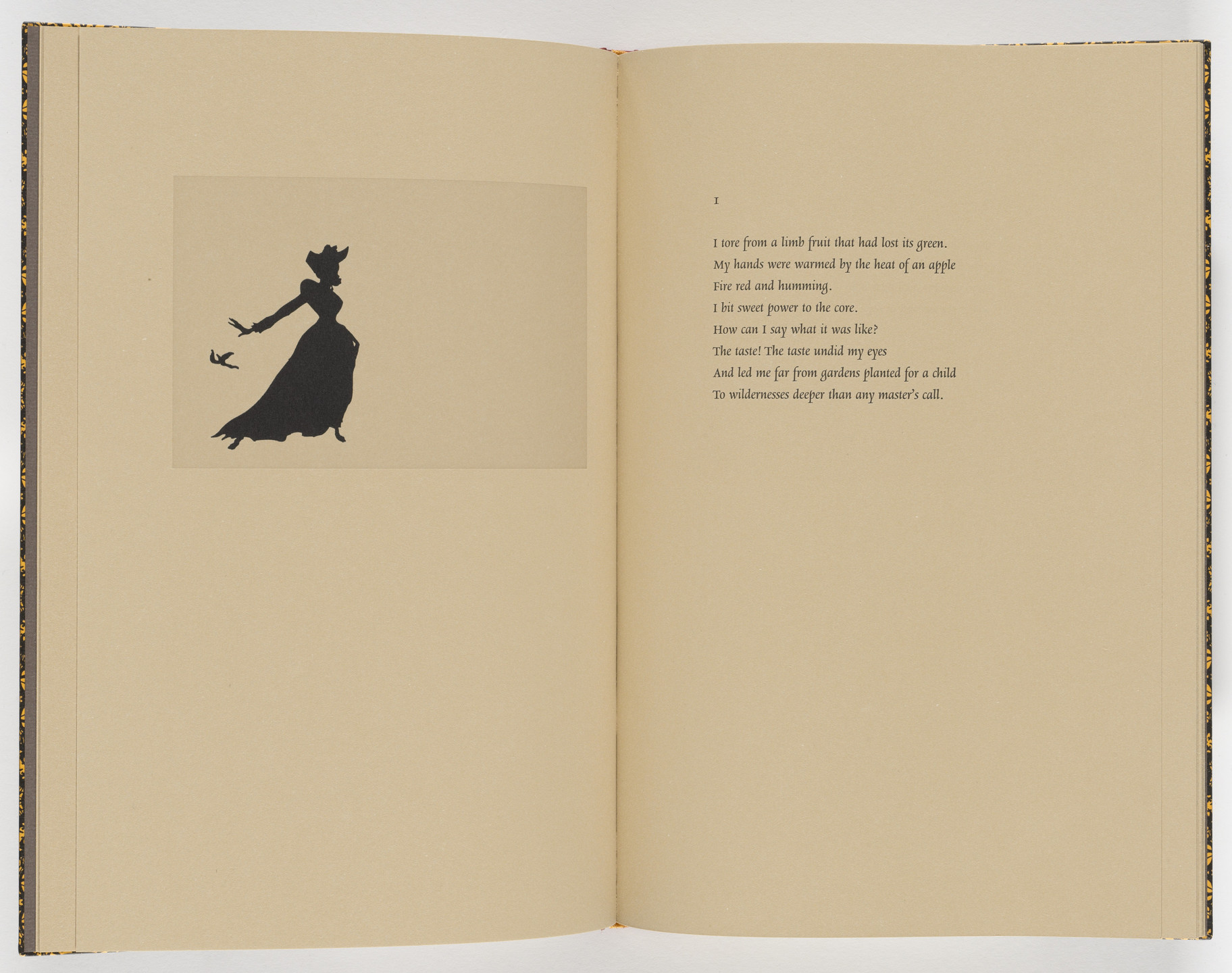 Kara Walker. Plate (page 8) from Five Poems. 2002