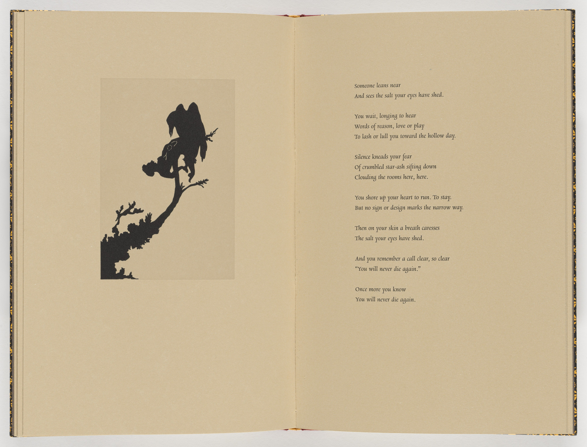 Kara Walker. Plate (page 18) from Five Poems. 2002