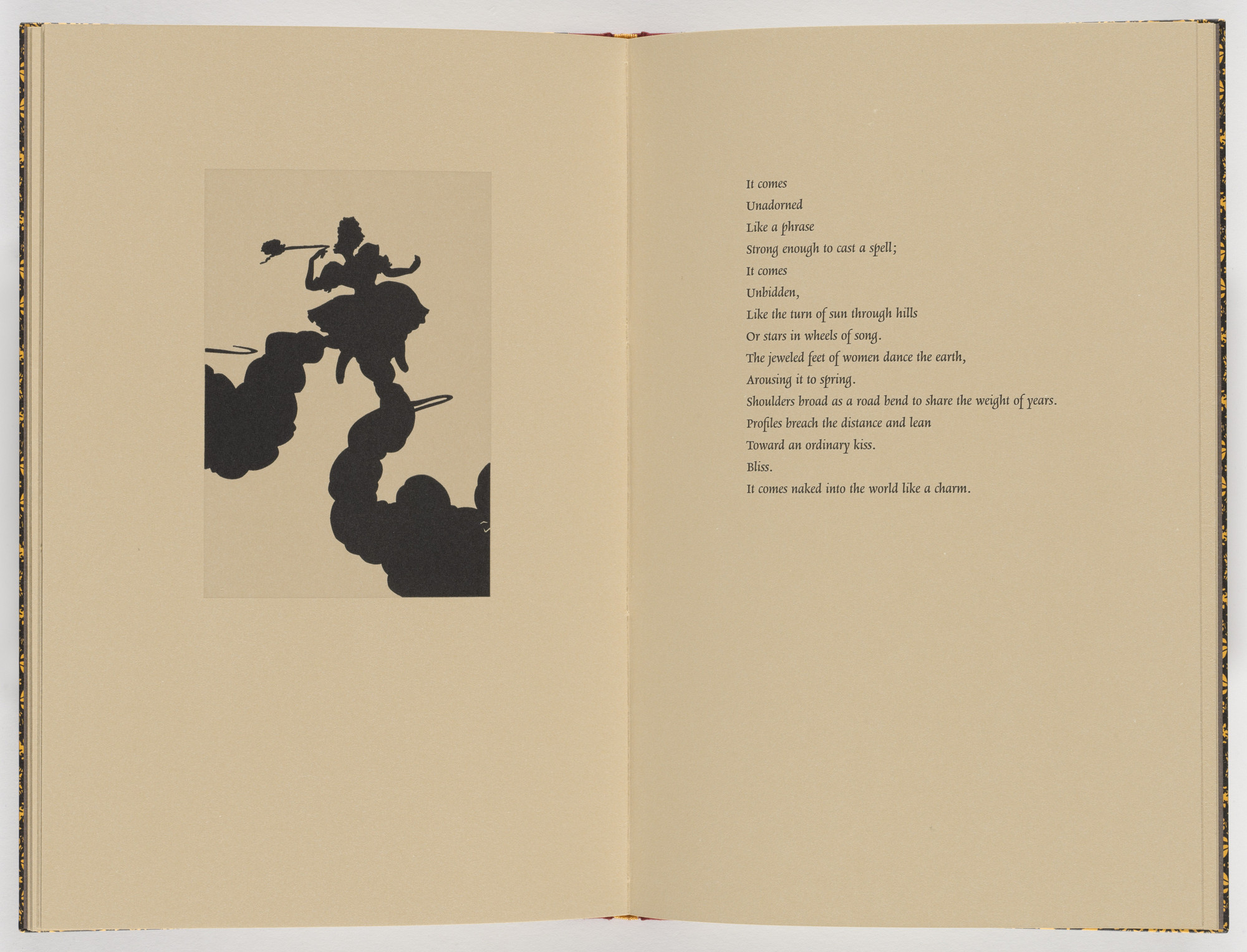 Kara Walker. Plate (page 22) from Five Poems. 2002