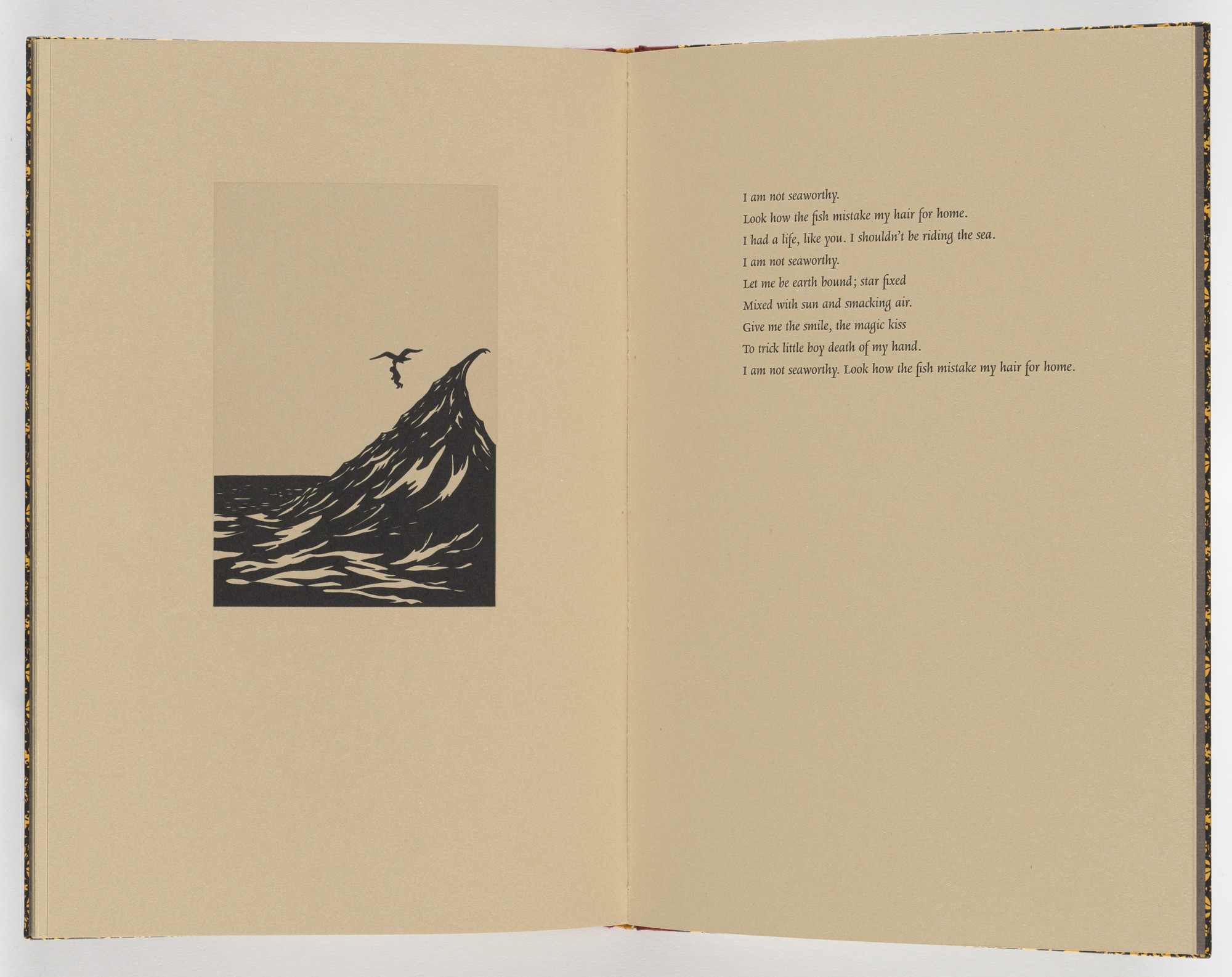 Kara Walker. Plate (page 26) from Five Poems. 2002