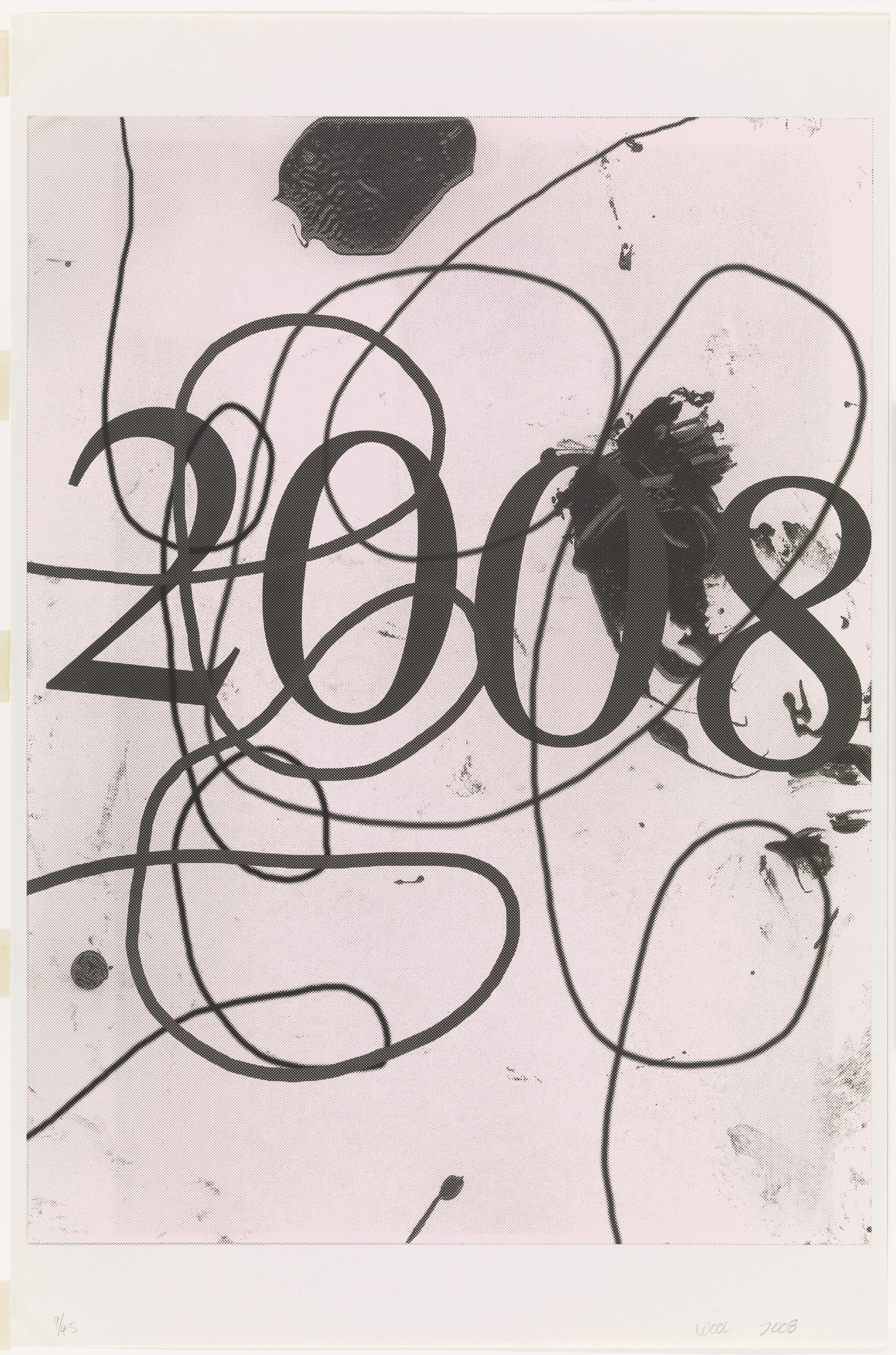 Christopher Wool. Wool 2008 (for Parkett no. 83). 2008