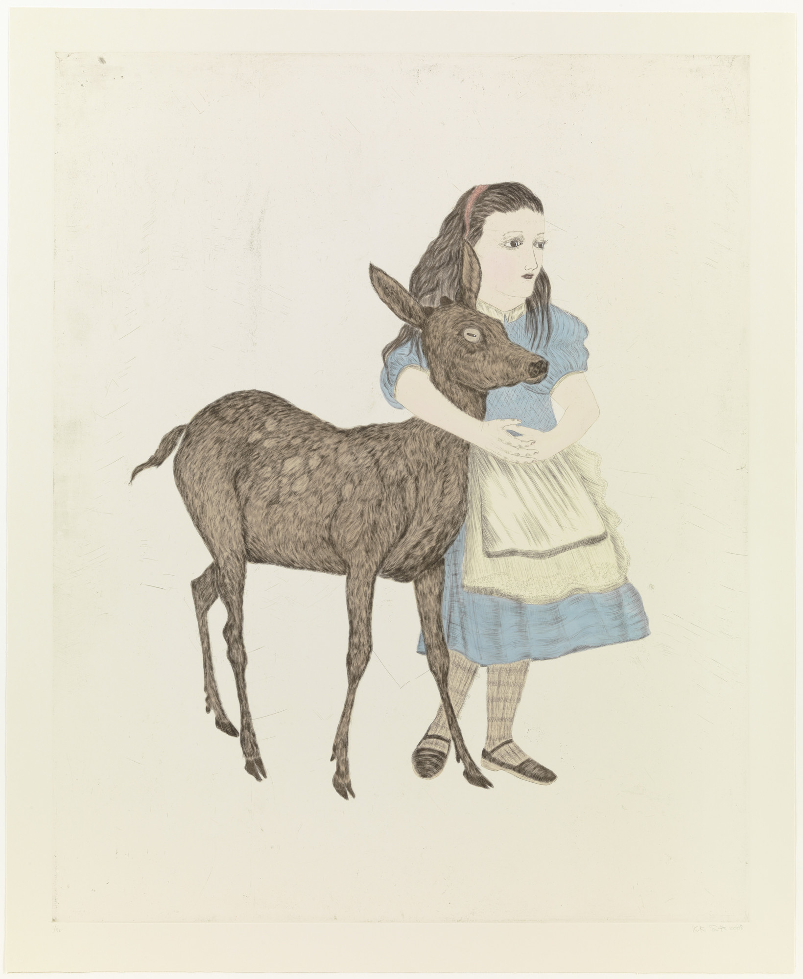 Kiki Smith. Fortune. 2008