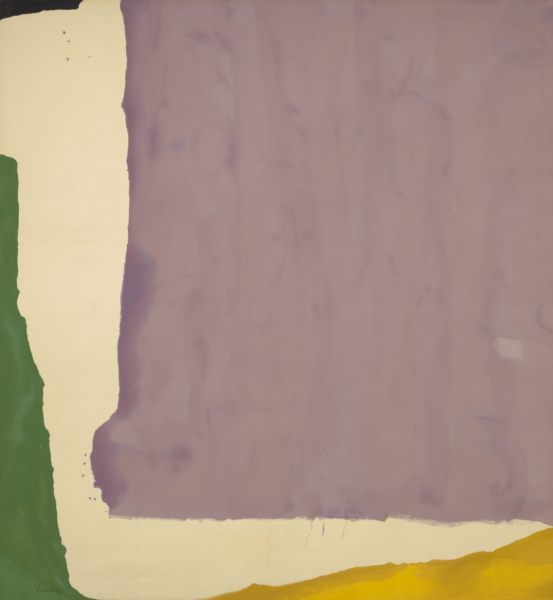 Helen Frankenthaler. Mauve District. 1966