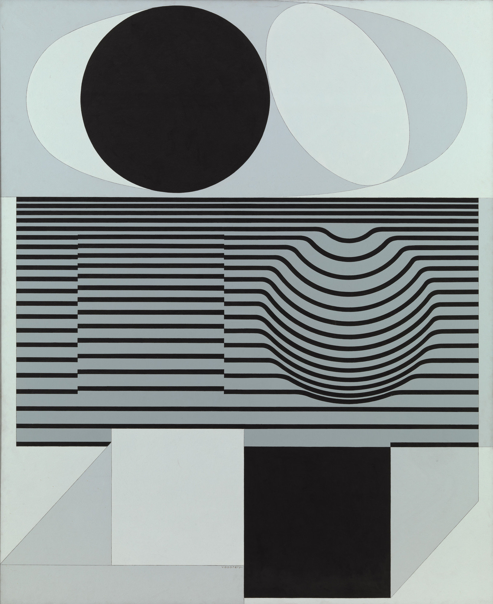 Victor Vasarely. Ondho. 1956-60