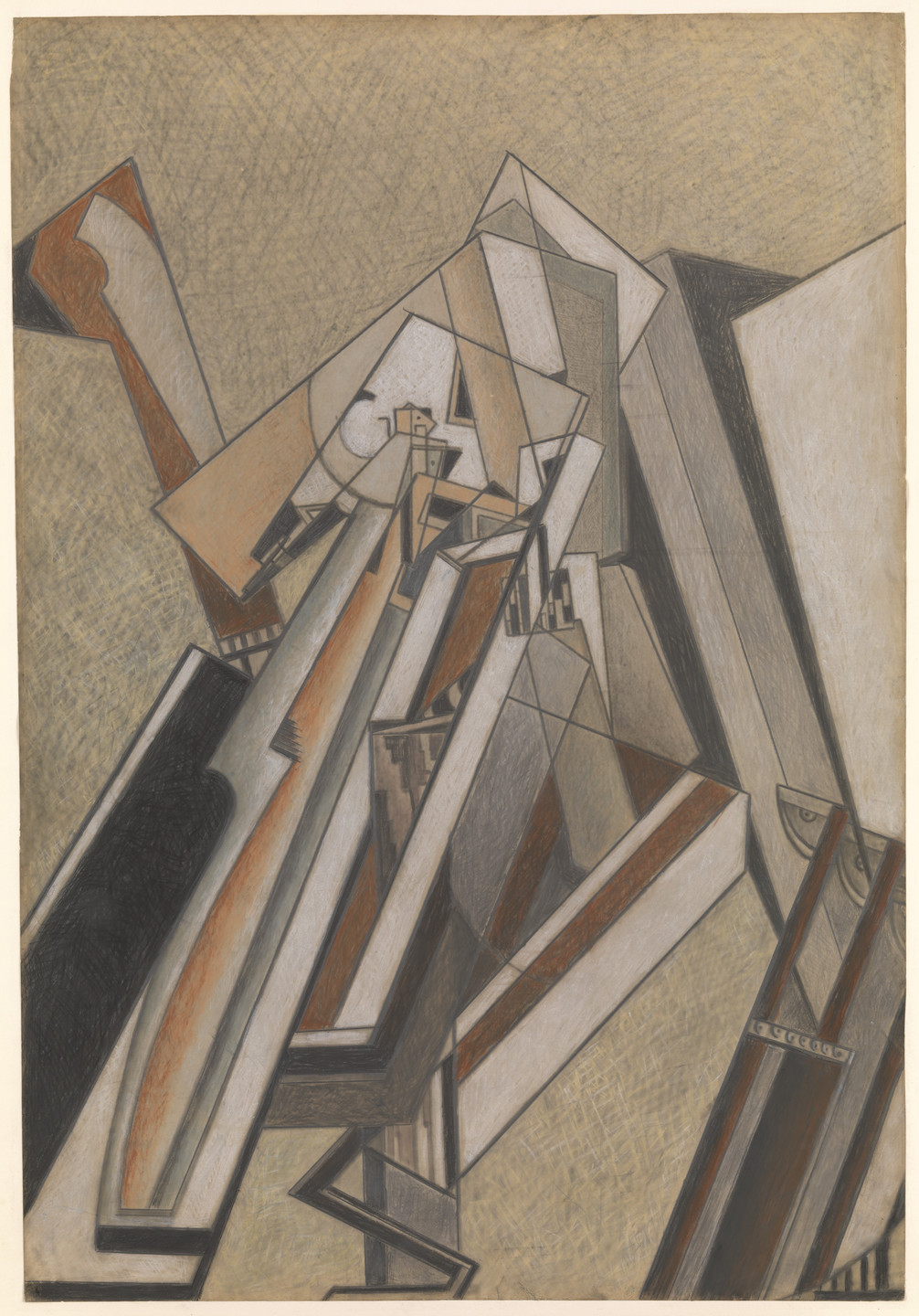 Lawrence Atkinson. Abstract Composition. c. 1914