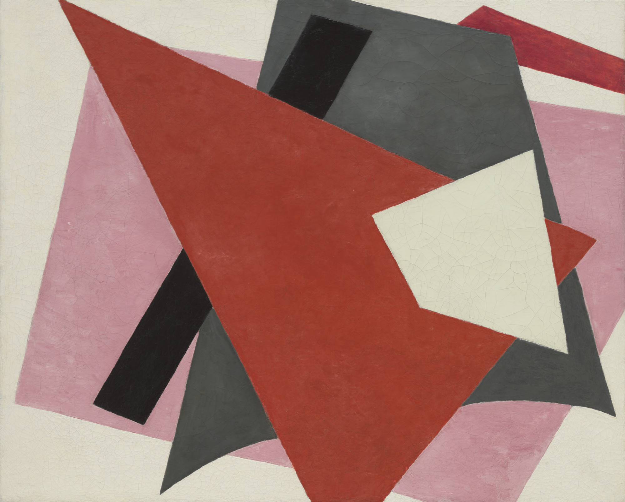Lyubov Popova. Painterly Architectonic. 1917