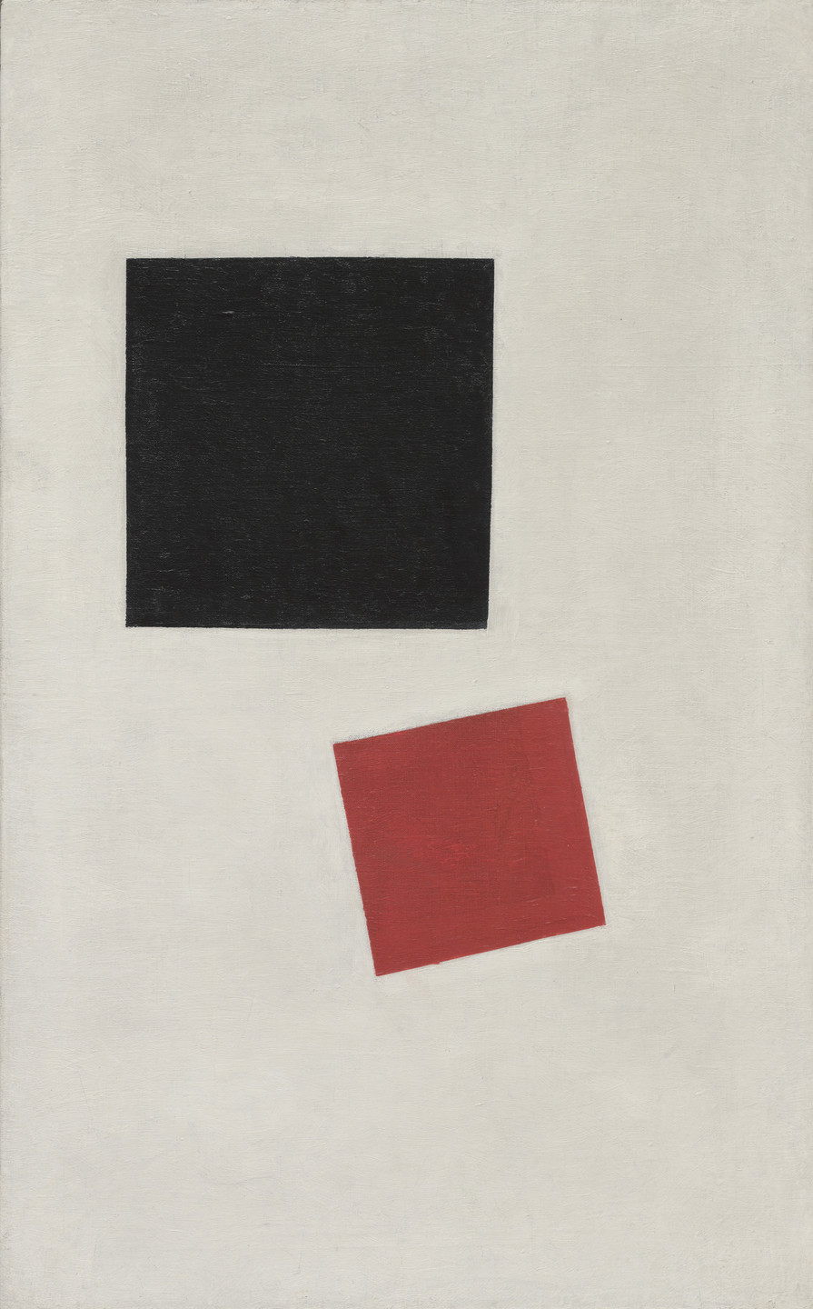 Kazimir Malevich. Painterly Realism of a Boy with a Knapsack - Color Masses in the Fourth Dimension. 1915