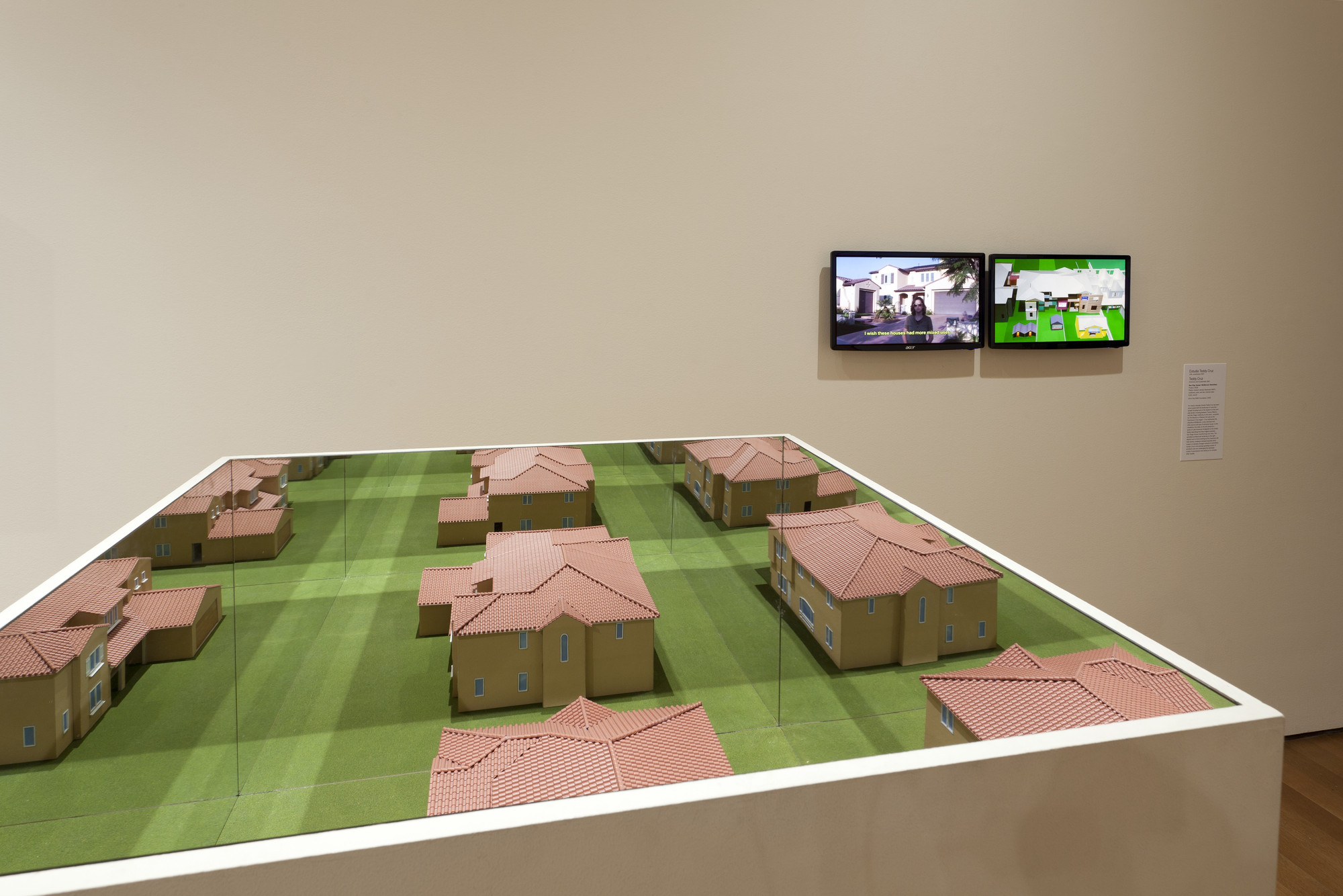 Teddy Cruz. Non-Stop Sprawl: McMansion Retrofitted Project. 2008