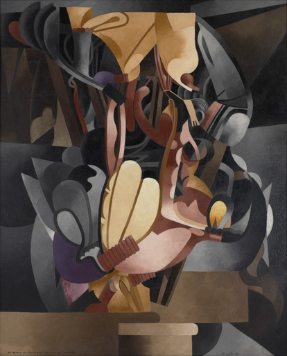Francis Picabia. I See Again in Memory My Dear Udnie. Paris, June - July 1914