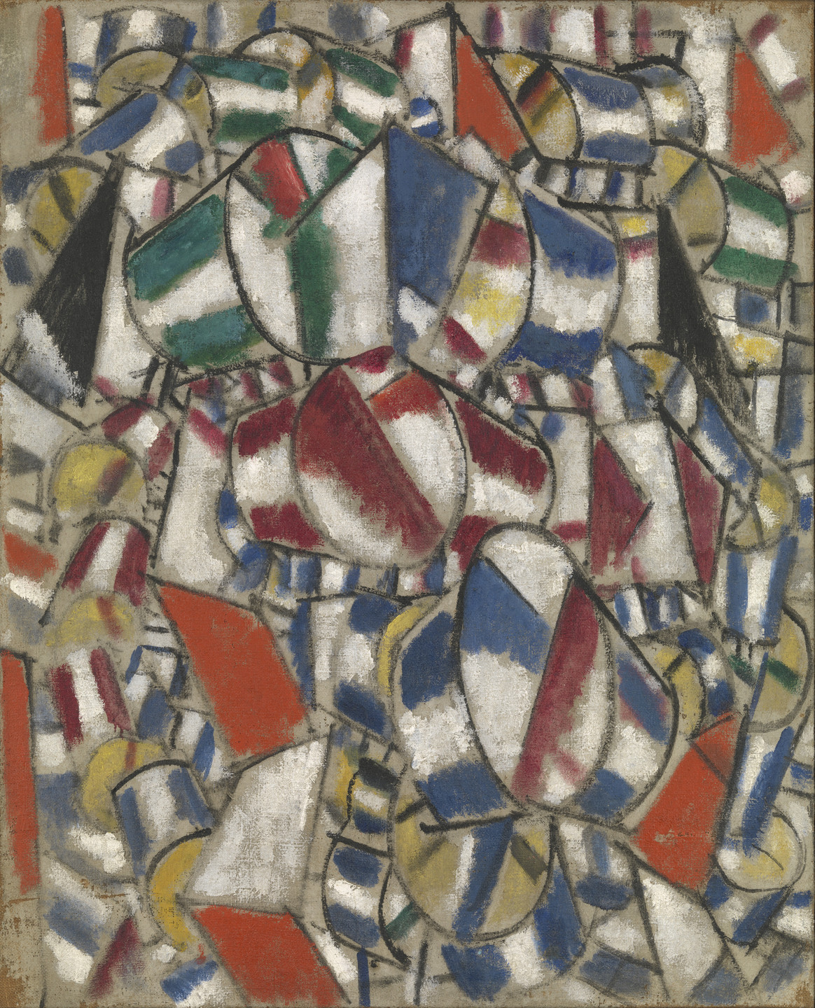 Fernand Léger. Contrast of Forms. 1913