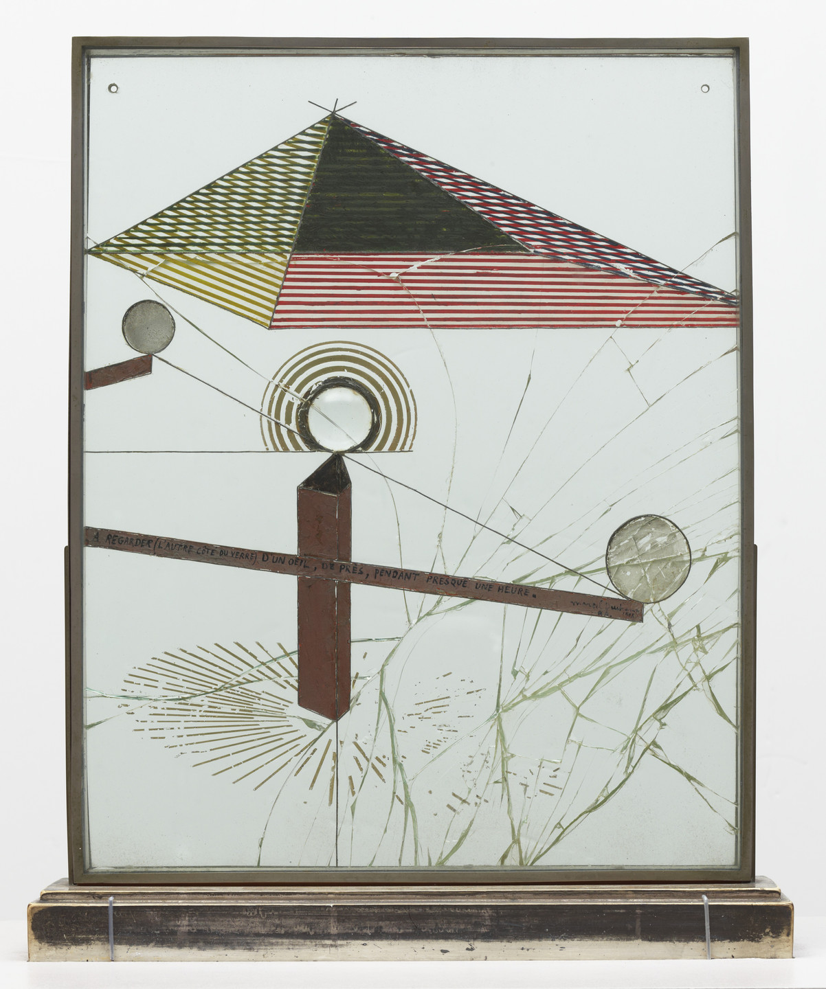 Marcel Duchamp. To Be Looked at (from the Other Side of the Glass) with One Eye, Close to, for Almost an Hour. Buenos Aires 1918
