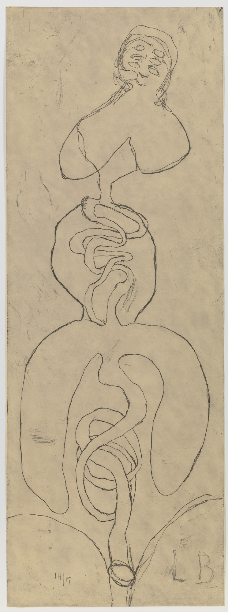 Louise Bourgeois. Just Like Me. 2007