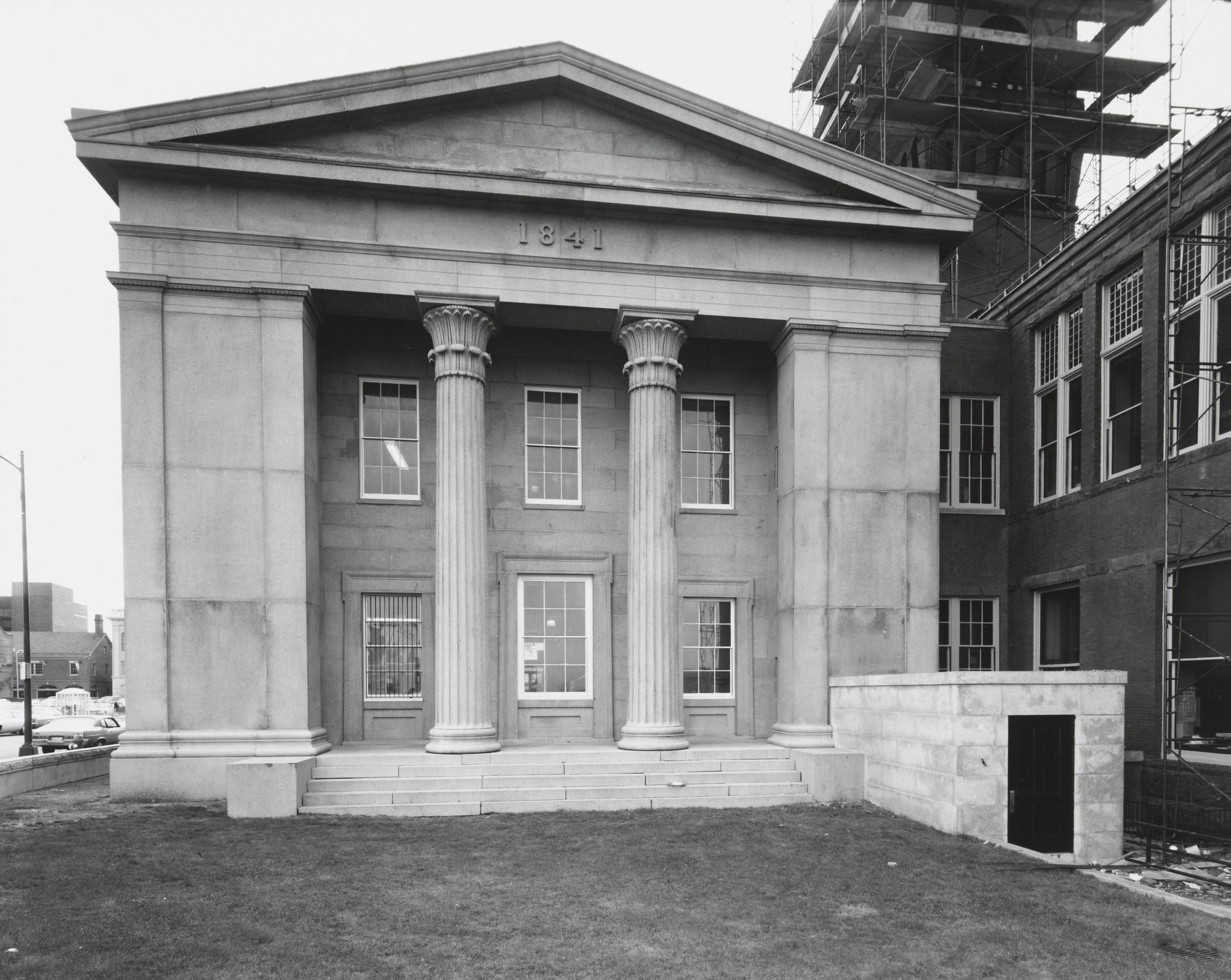 Nicholas Nixon  Essex County Superior Courthouse, Salem
