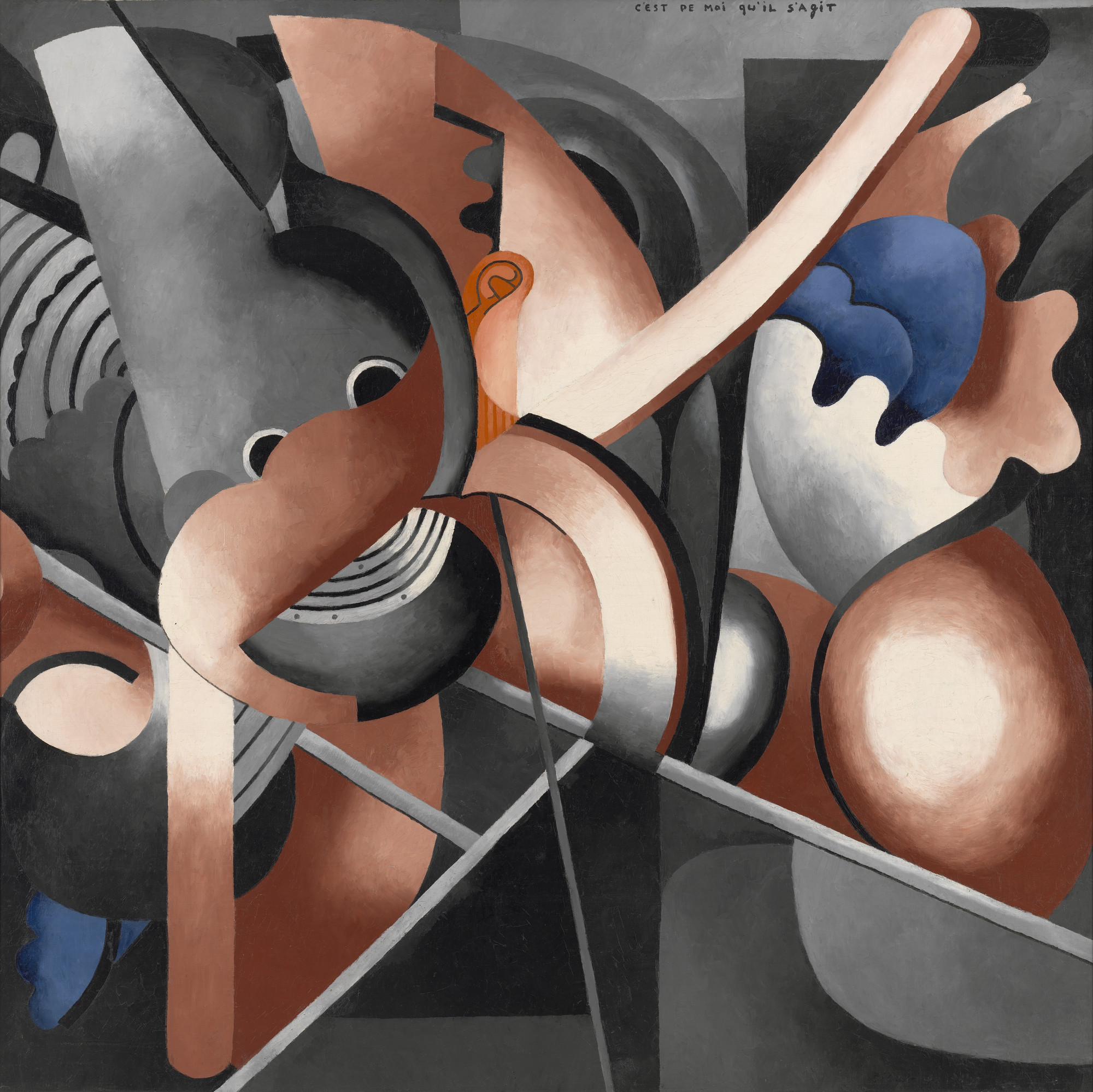 Francis Picabia. This Has to Do with Me. c. June-July 1914