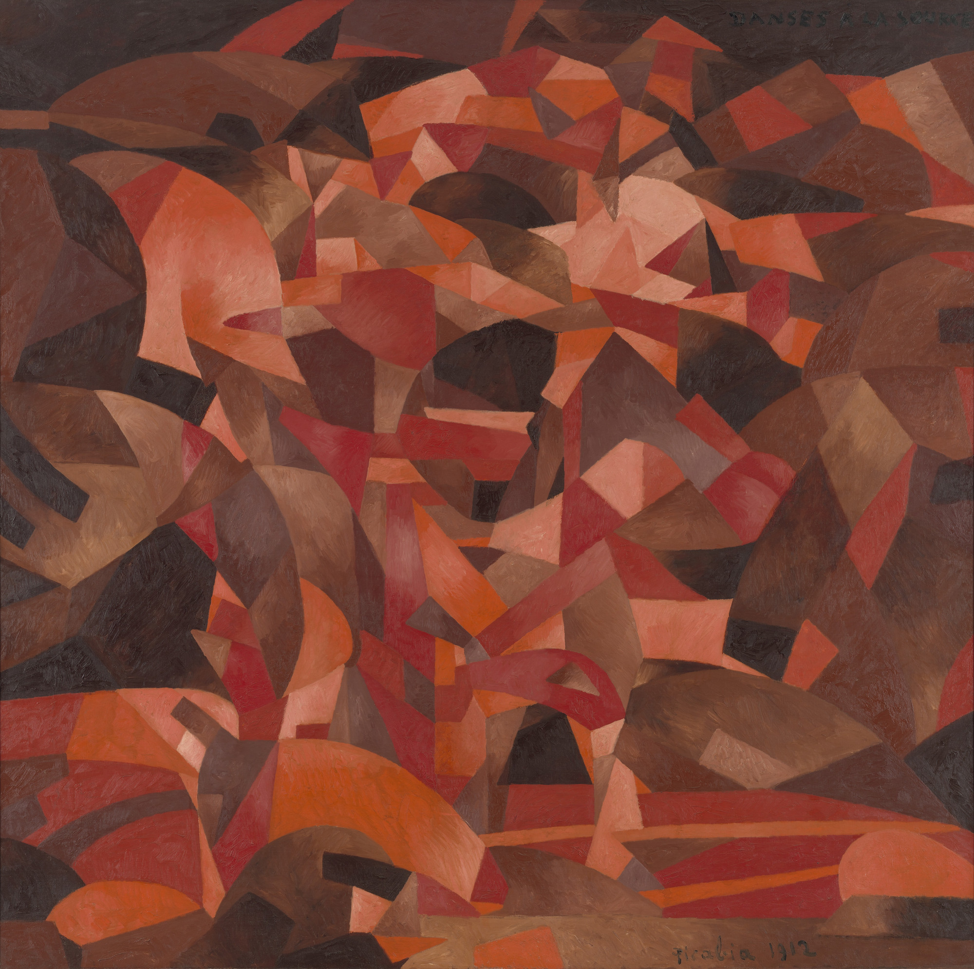 Francis Picabia. Dances at the Spring [II]. Saint Cloud, spring or summer 1912